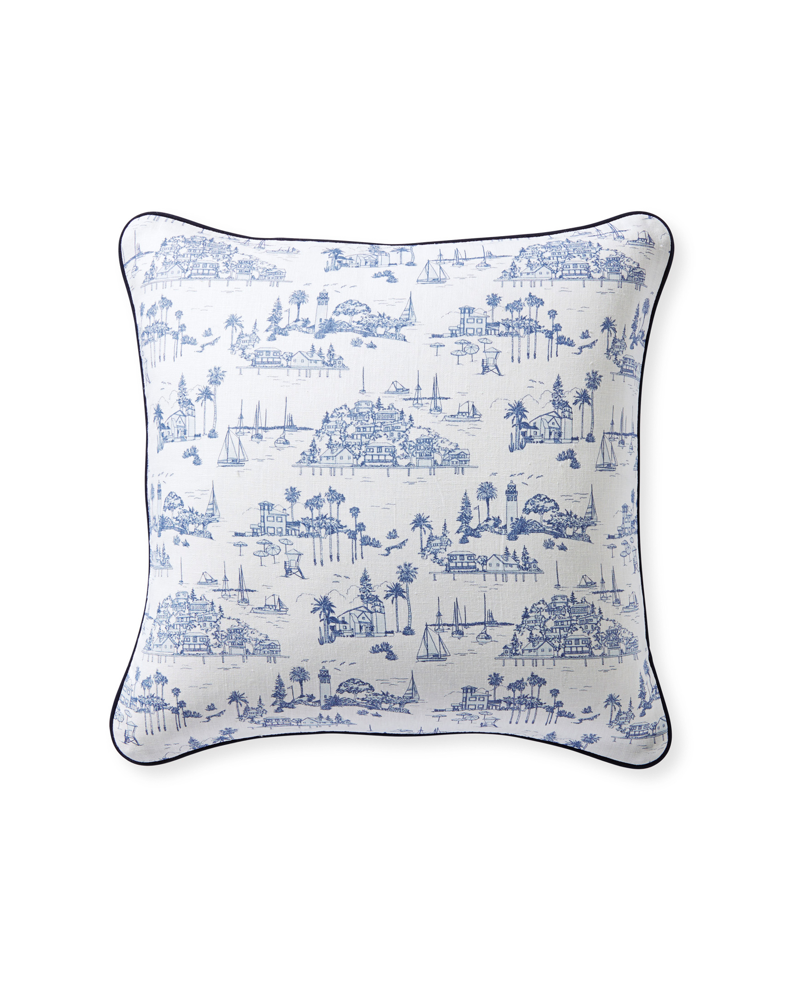 Seahaven Pillow Cover, Serena & Lily