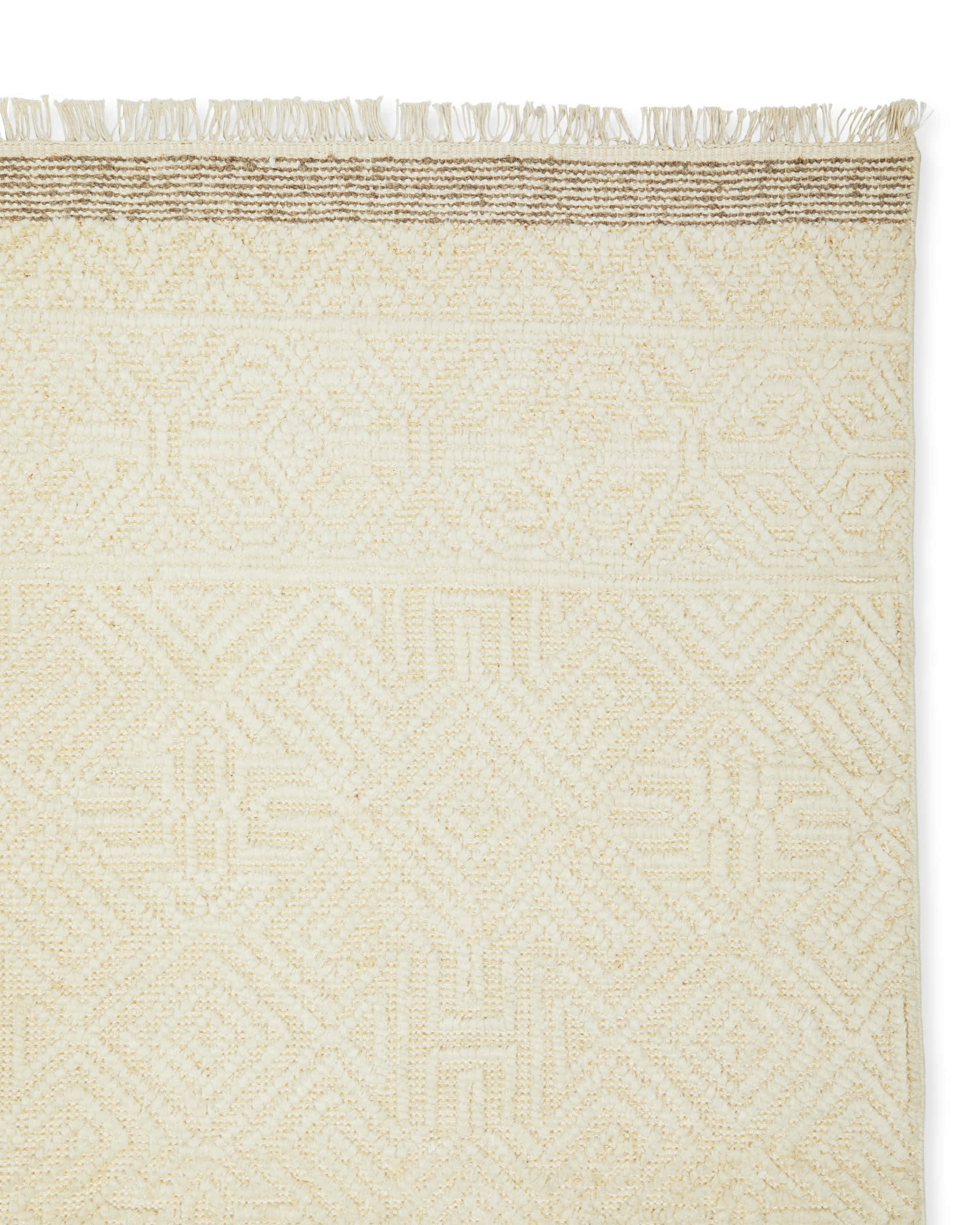 Satterlee Hand-Knotted Rug Swatch,