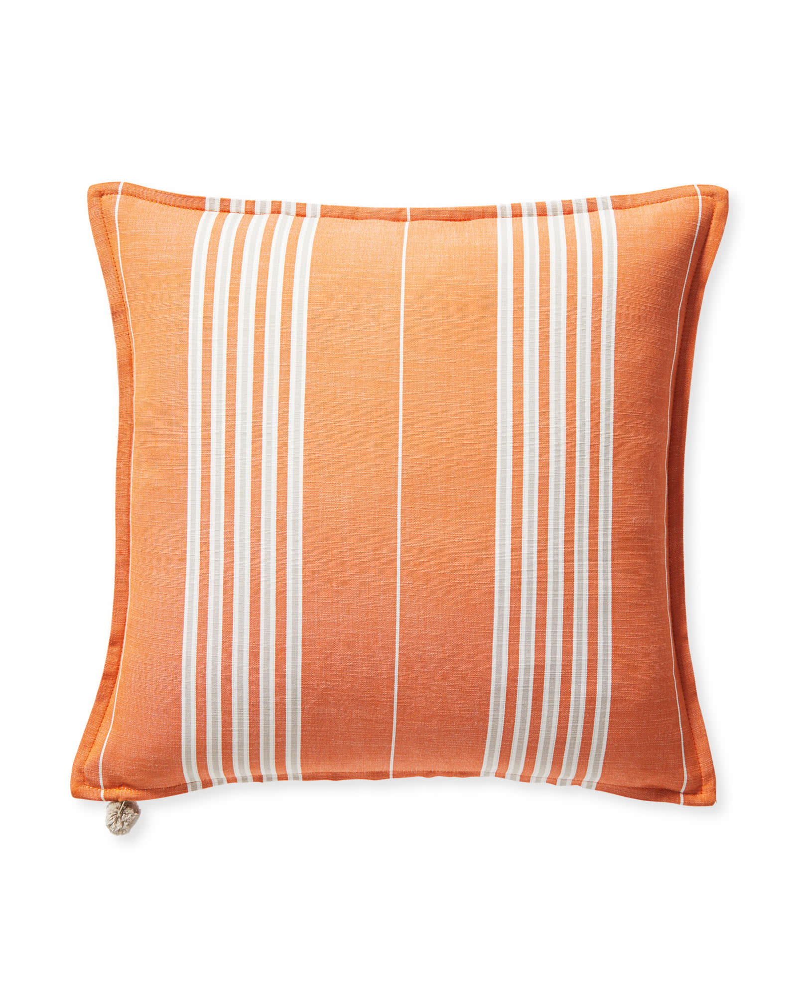 Perennials® Lake Stripe Pillow Cover, Orange
