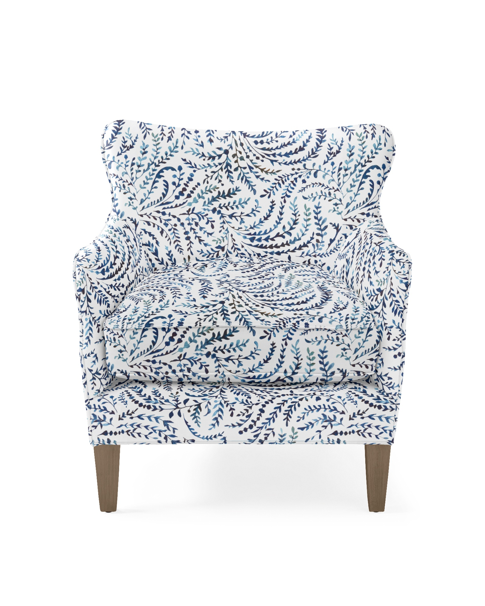 Elm Chair - Priano Navy Linen,