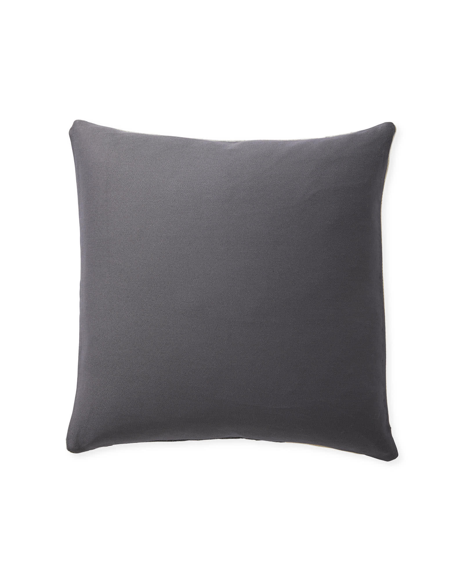 Francis Pillow Cover, Grey