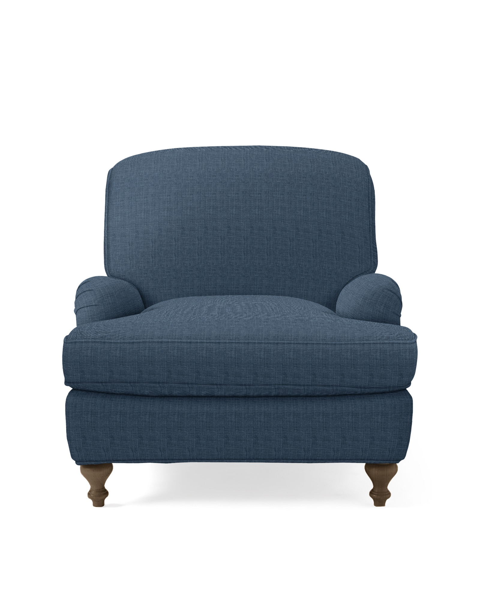 Miramar Chair - Indigo Washed Linen,