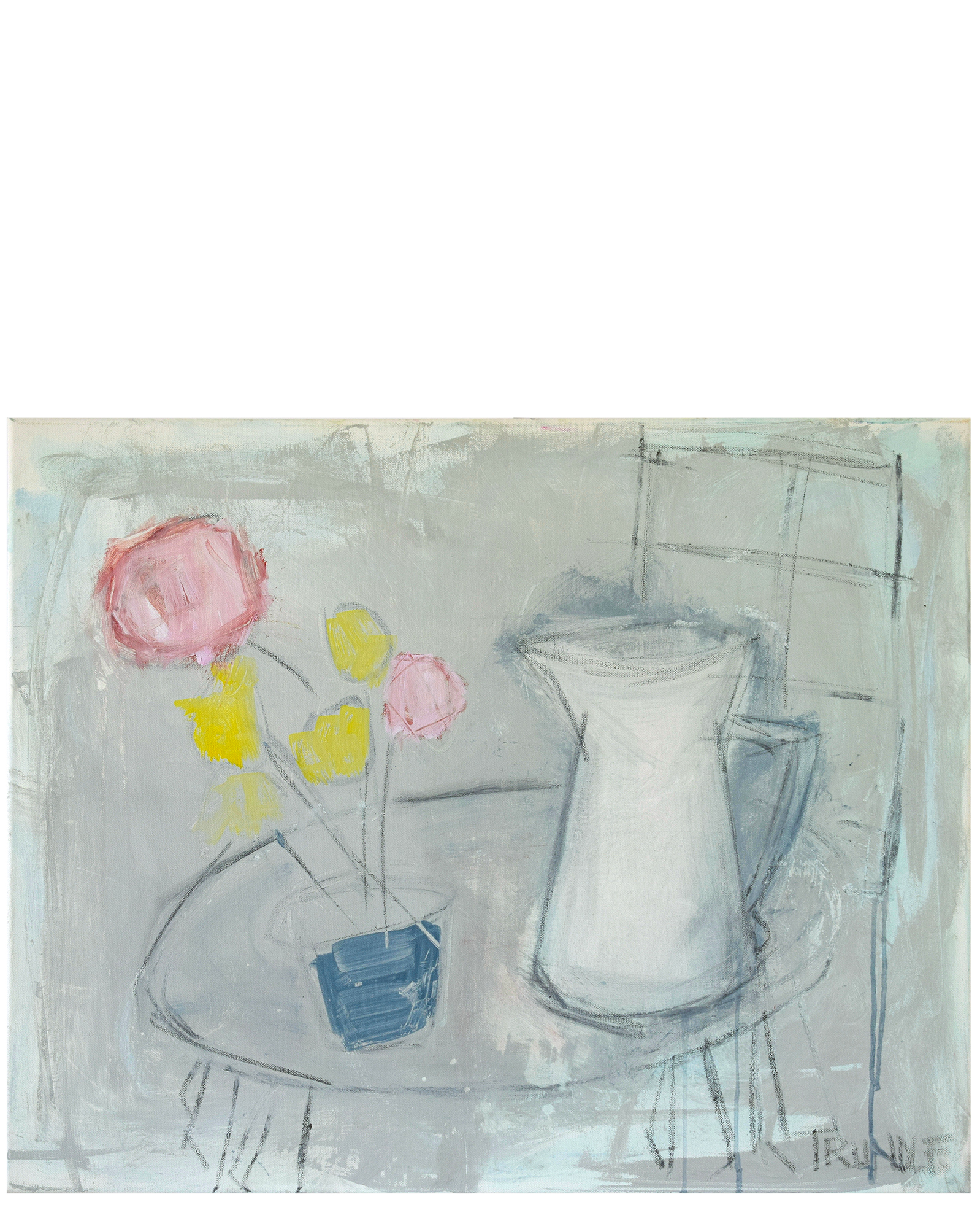 """""""White Pitcher"""" by Sarah Trundle,"""