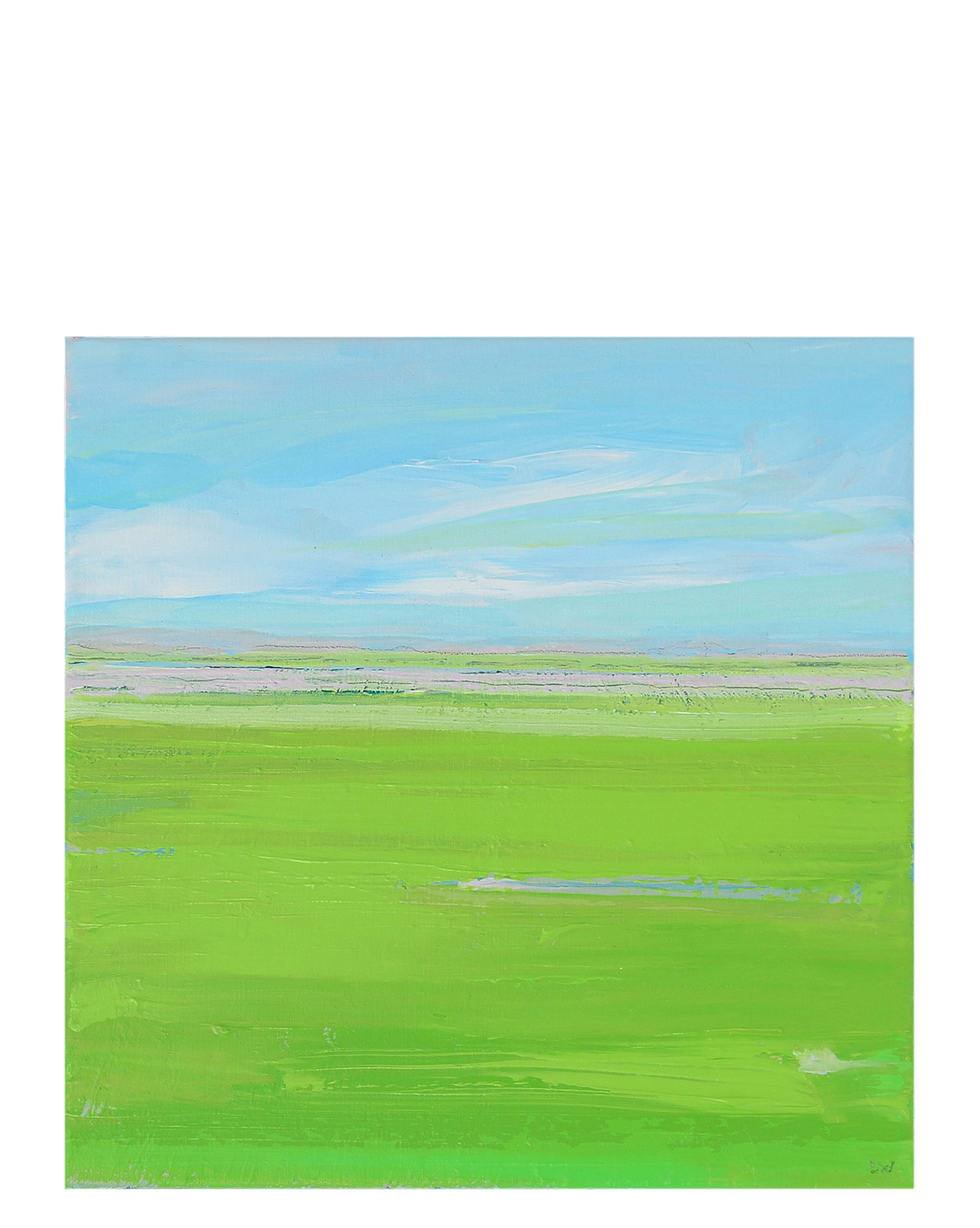 """""""Spring Green"""" by Laurie Winthers,"""