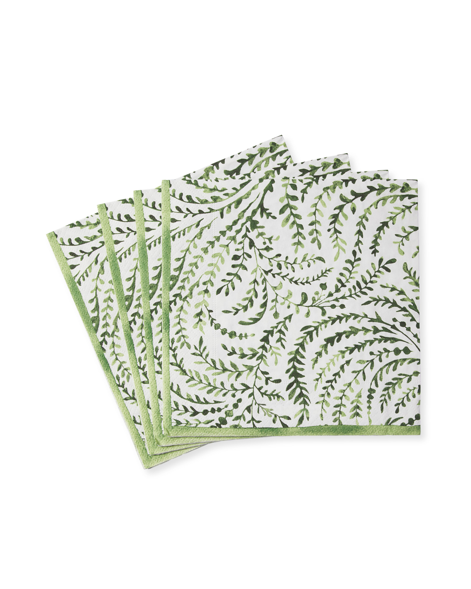 Priano Napkins - Luncheon (Set of 20), Green