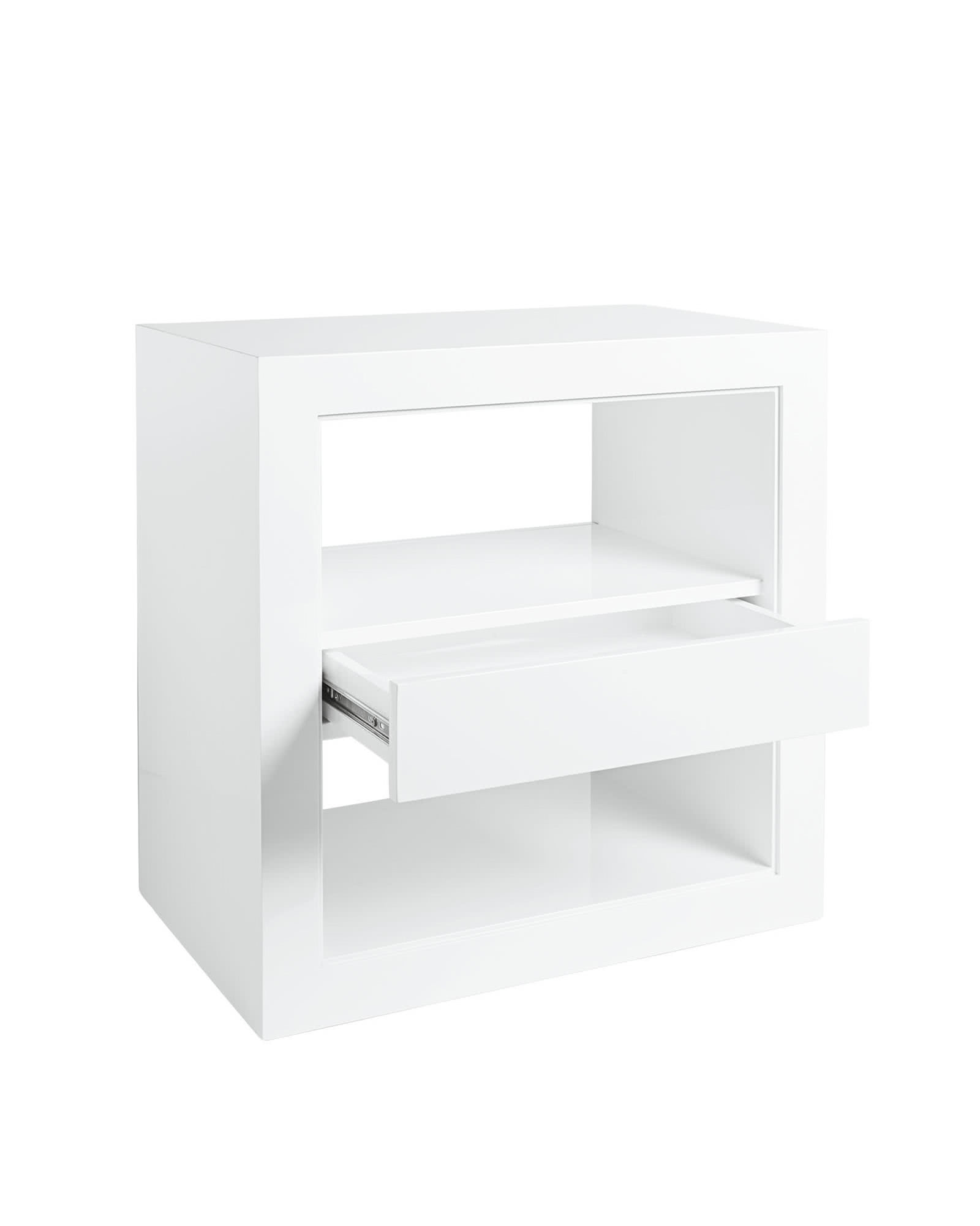 Atelier Side Table With Drawer,