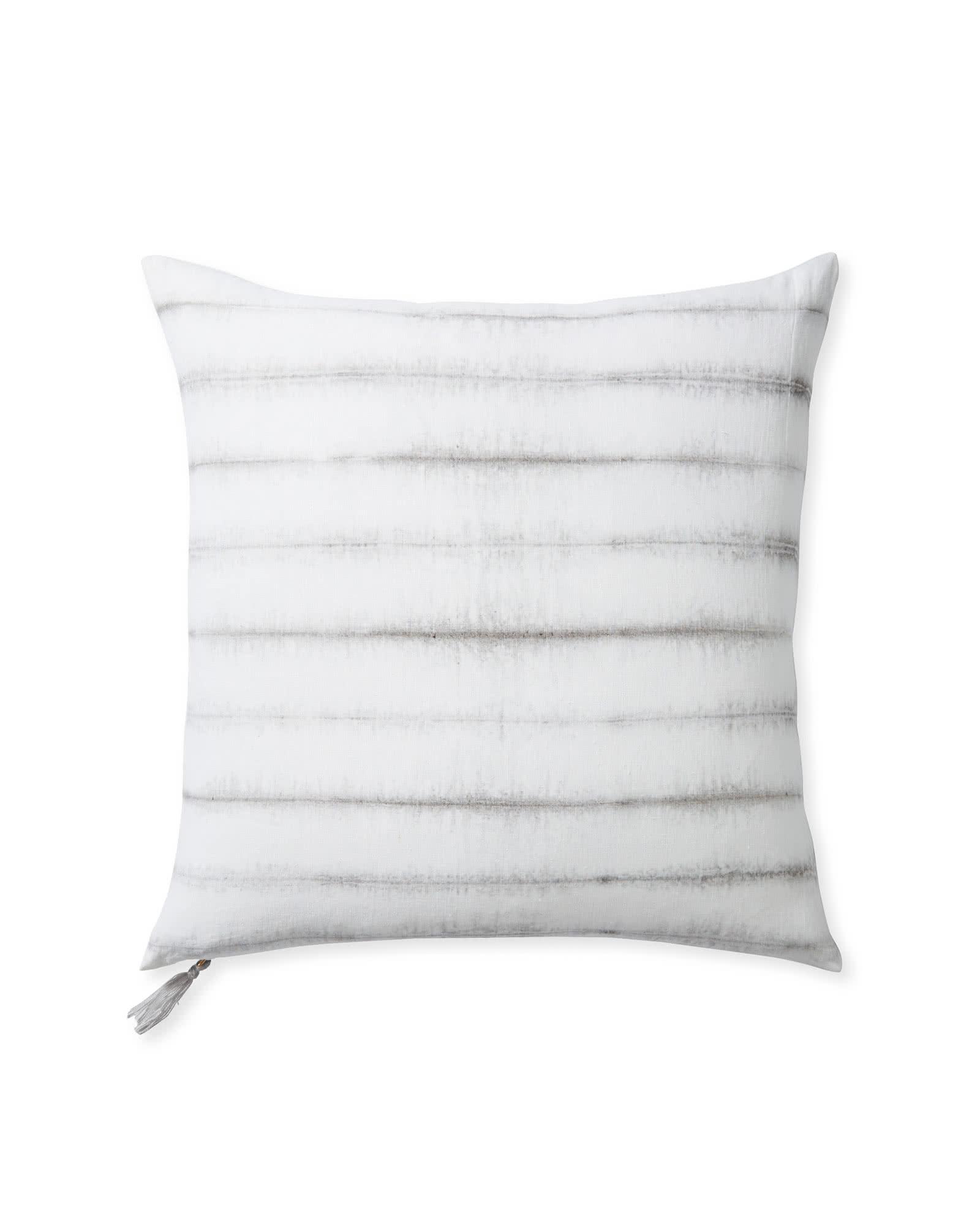 Capitola Stripe Pillow Cover, Fog