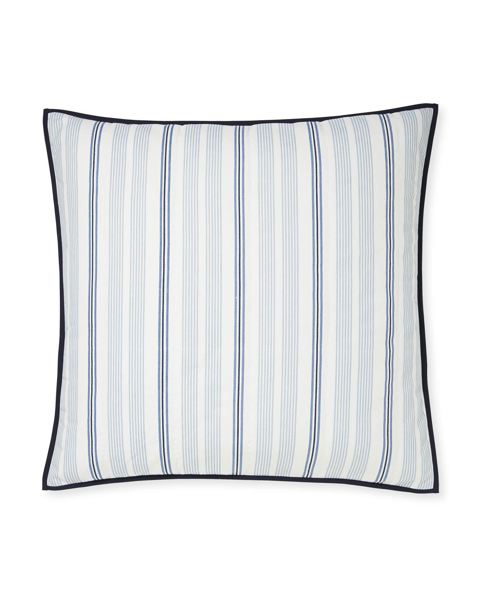 Isla Quilted Shams, Blue