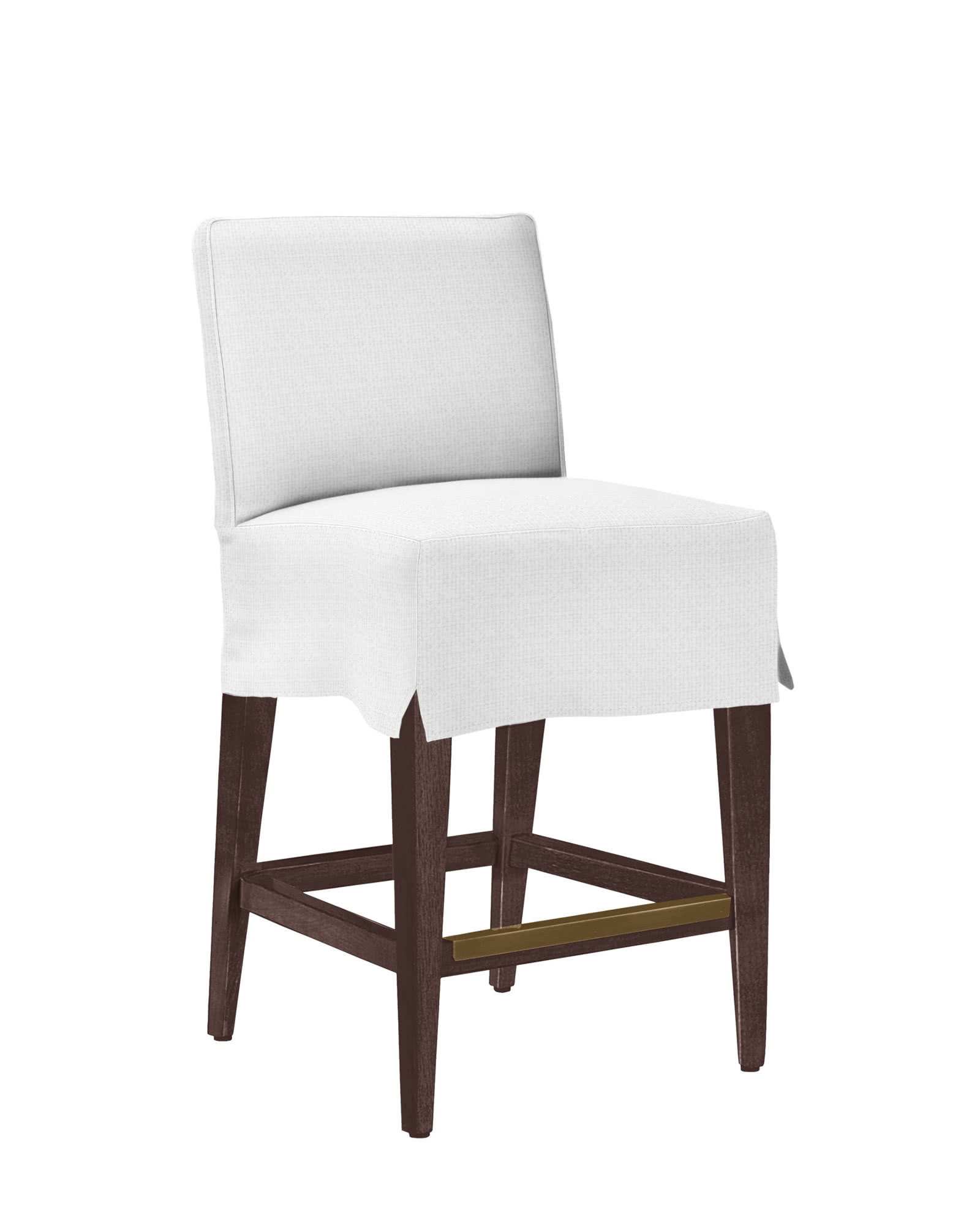 Jackson Counter Stool Slipcovered Stools Serena And Lily