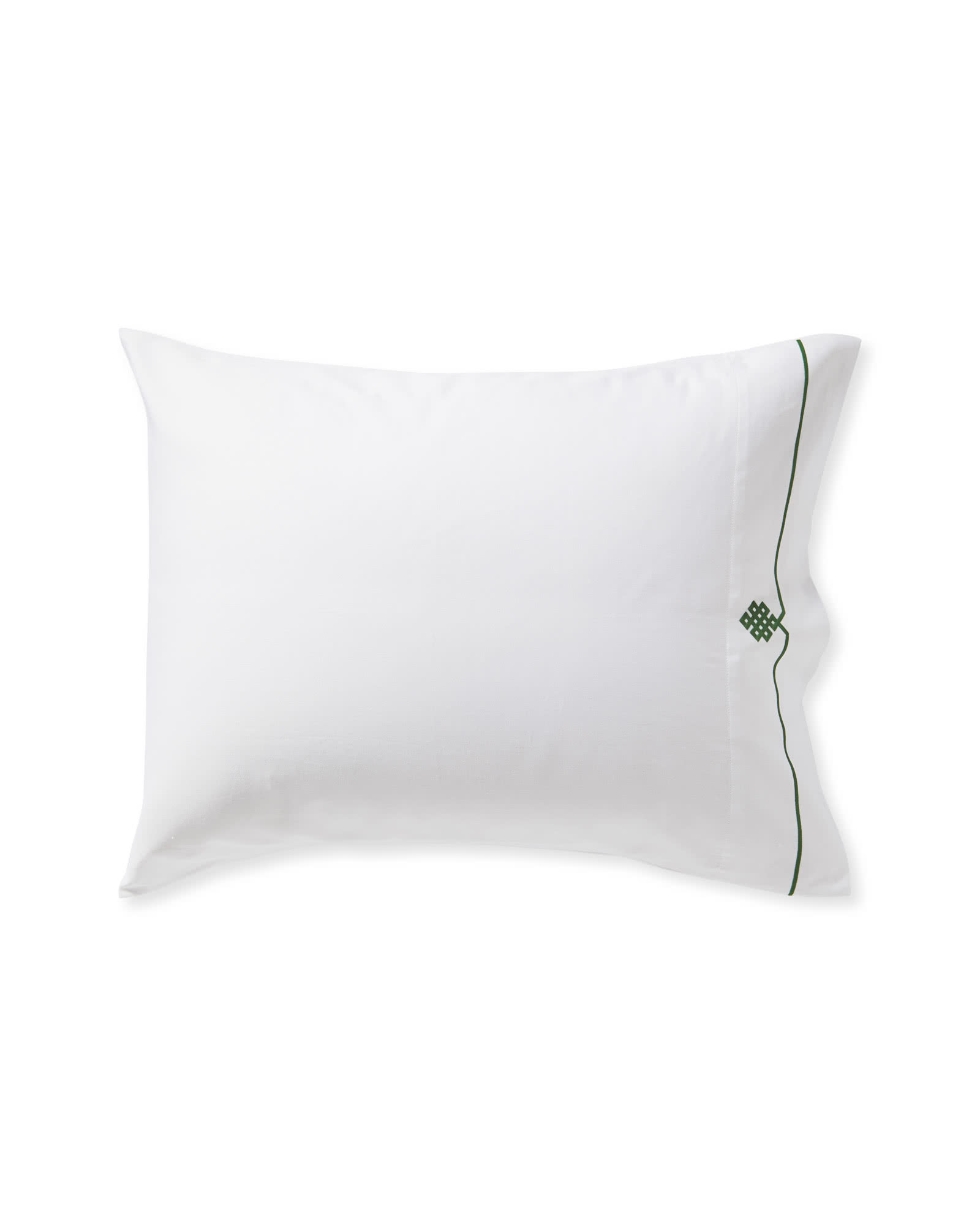 Soho Pillowcases (Extra Set of 2), Moss