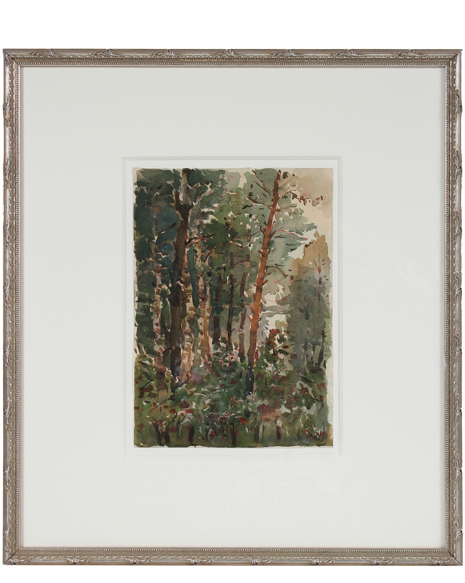 """""""Abstracted Soviet Forest"""" by Nazalenko,"""
