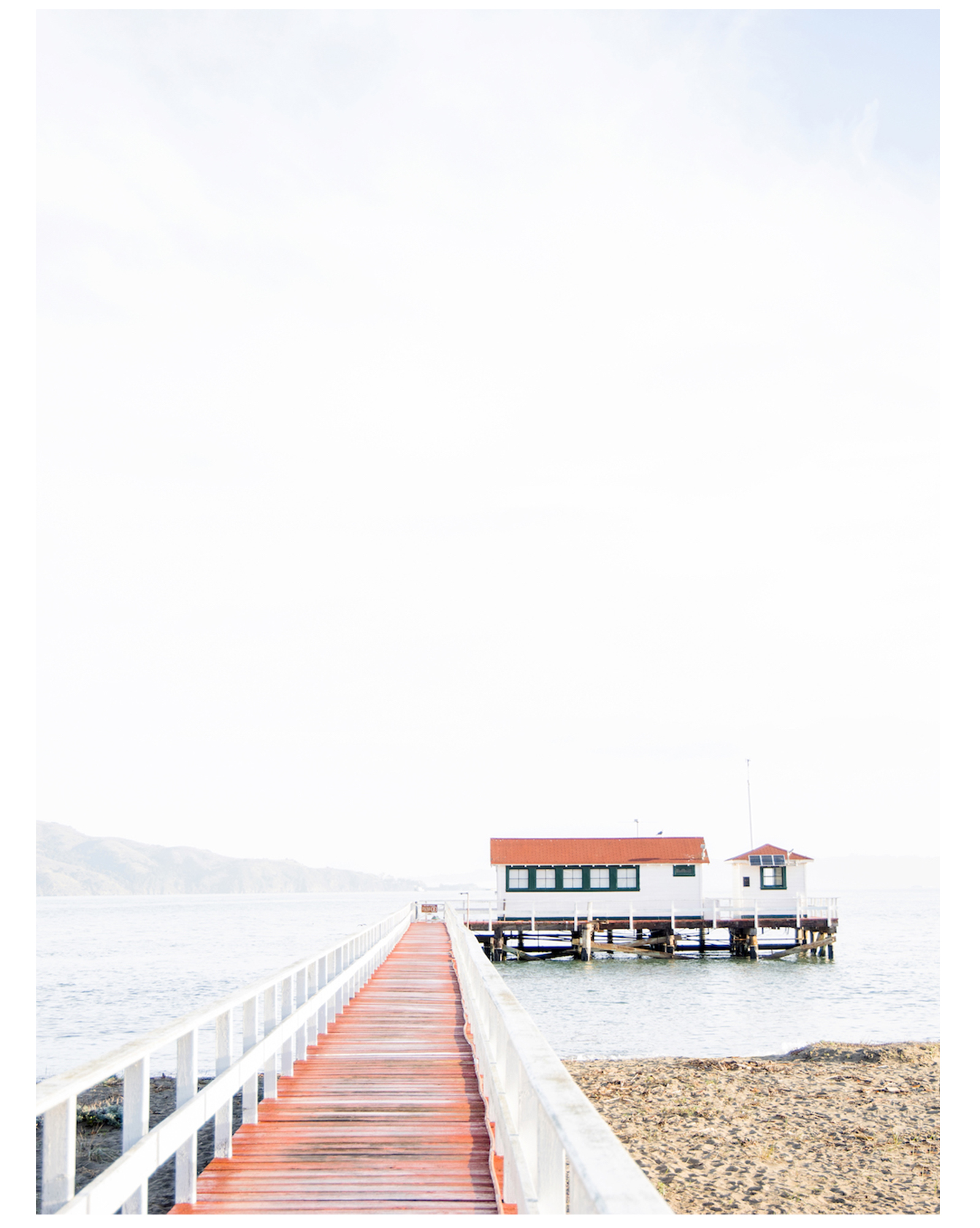"""Beach Pier 1 "" by Caroline Pacula,"