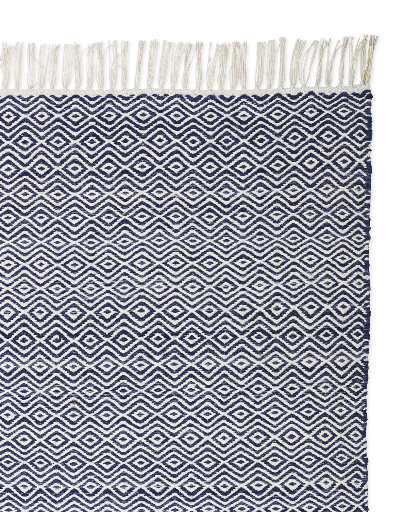 Seaview Rug Swatch, Navy