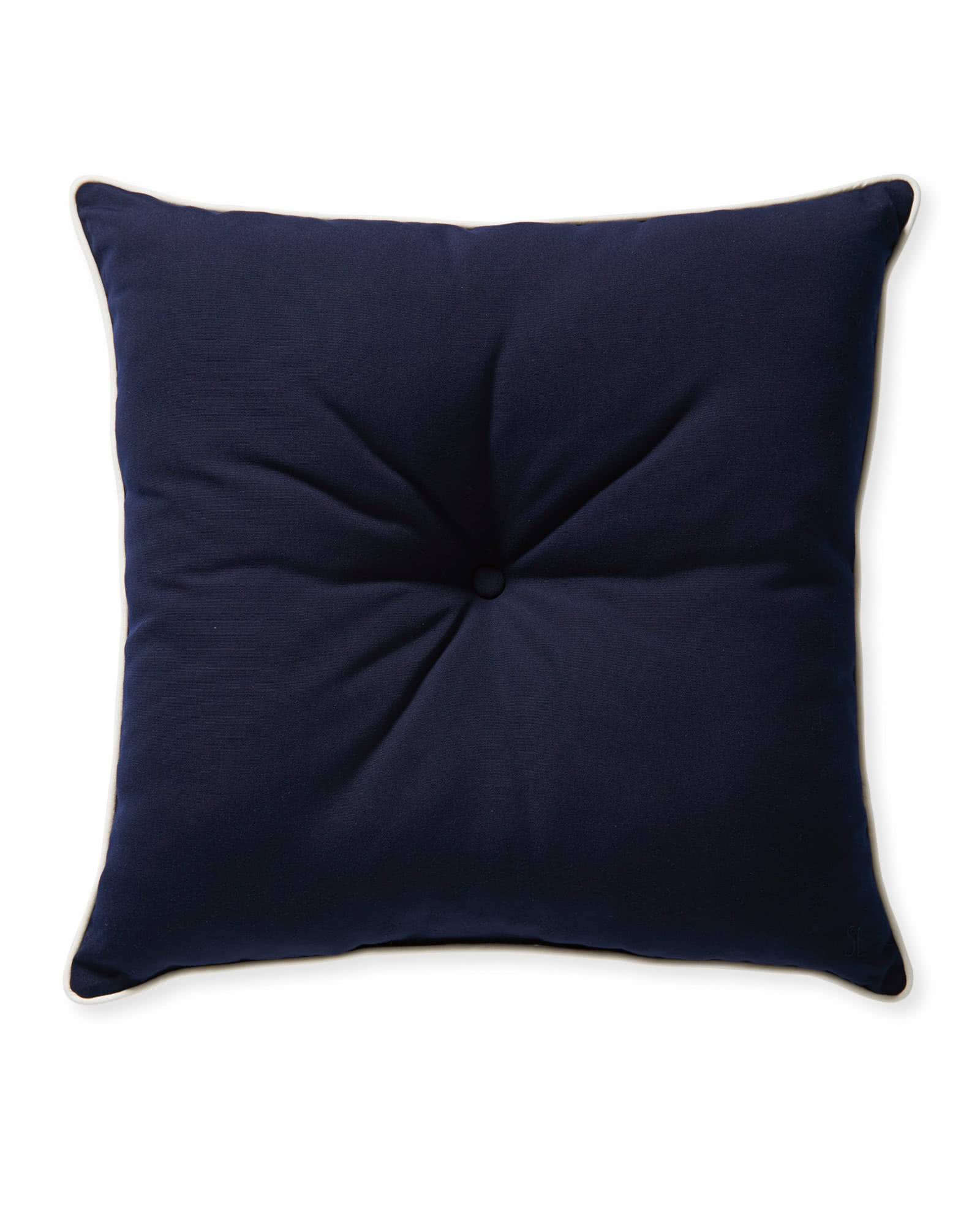 Sunbrella® Lido Pillow, Navy