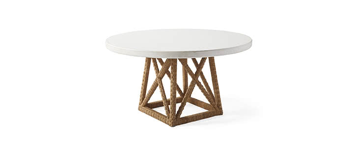 Dining Tables Serena Lily - Cement look dining table