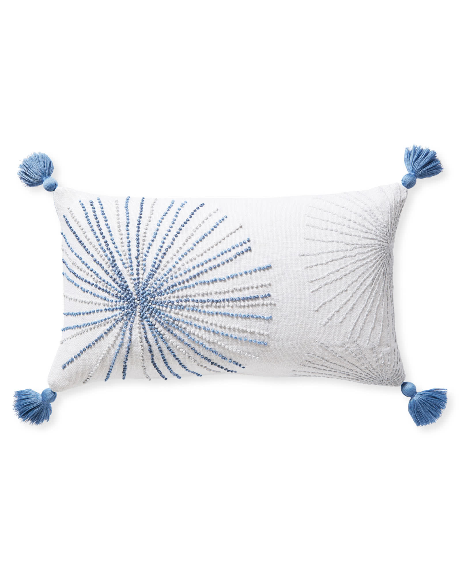 Ridgewater Pillow Cover, Blue