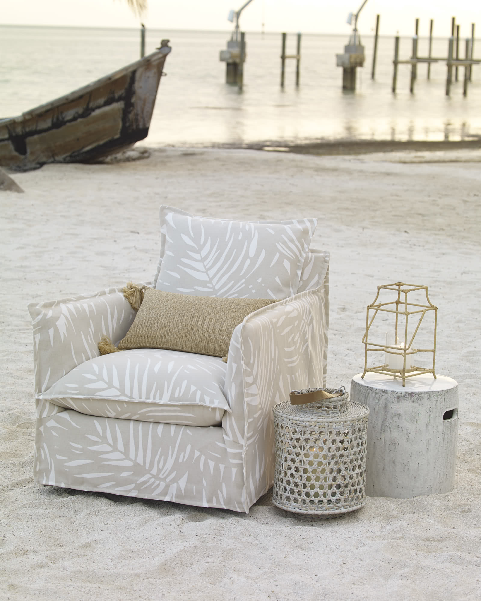 Sundial Outdoor Chair - Palm