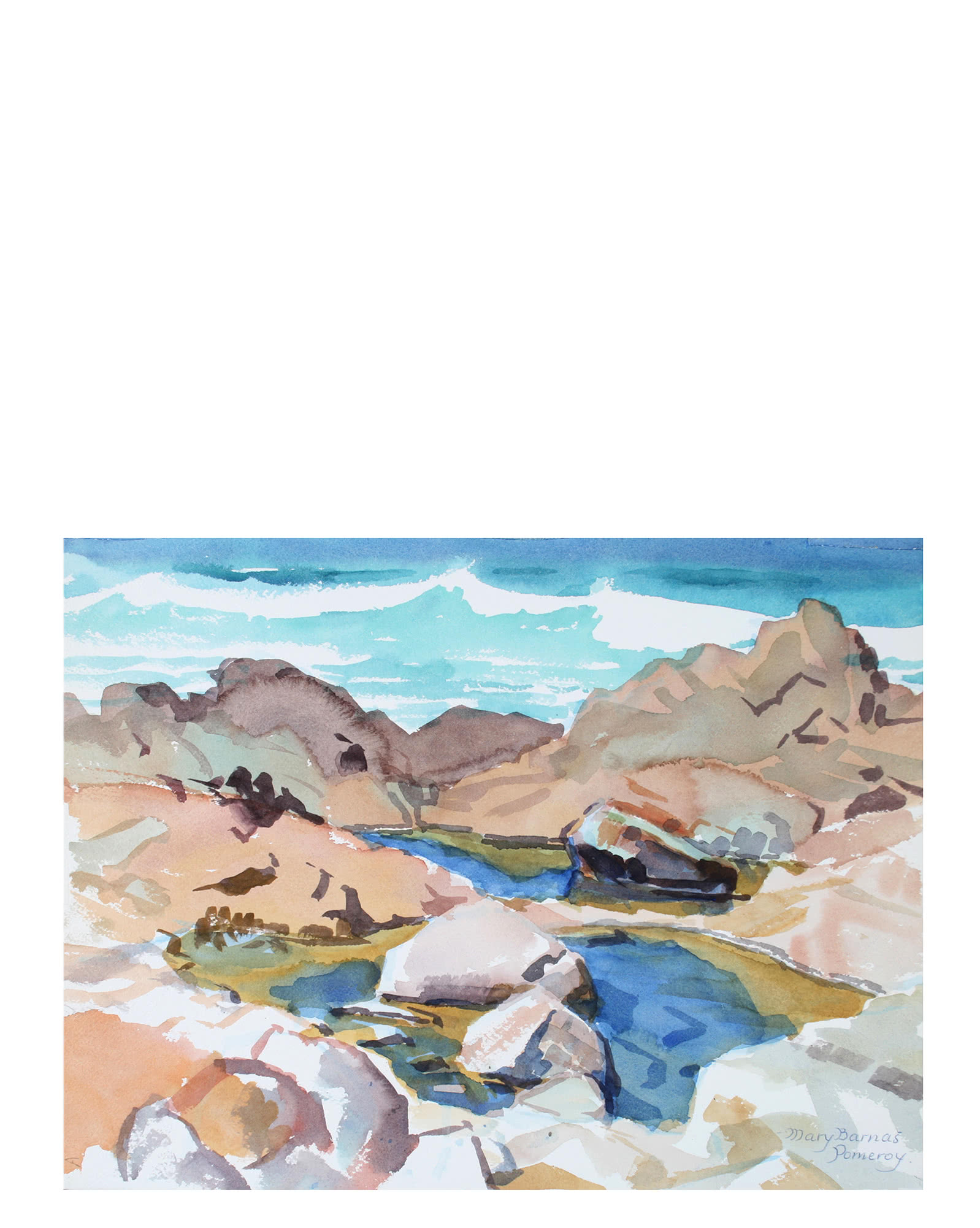 """Tidepool - Pacific Grove"" by Mary Pomeroy,"