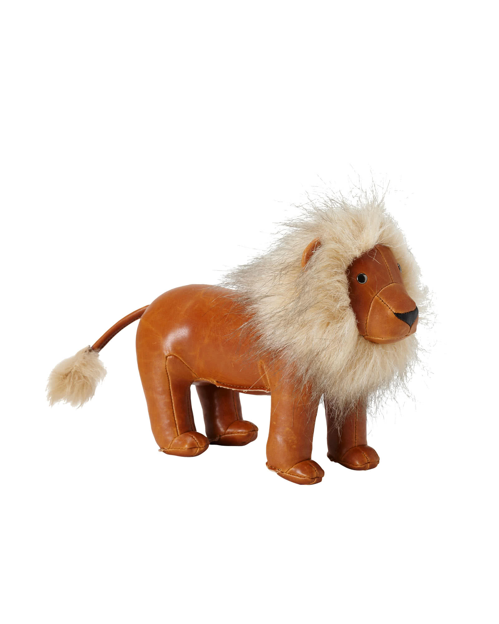 Menagerie Bookend - Brown Lion