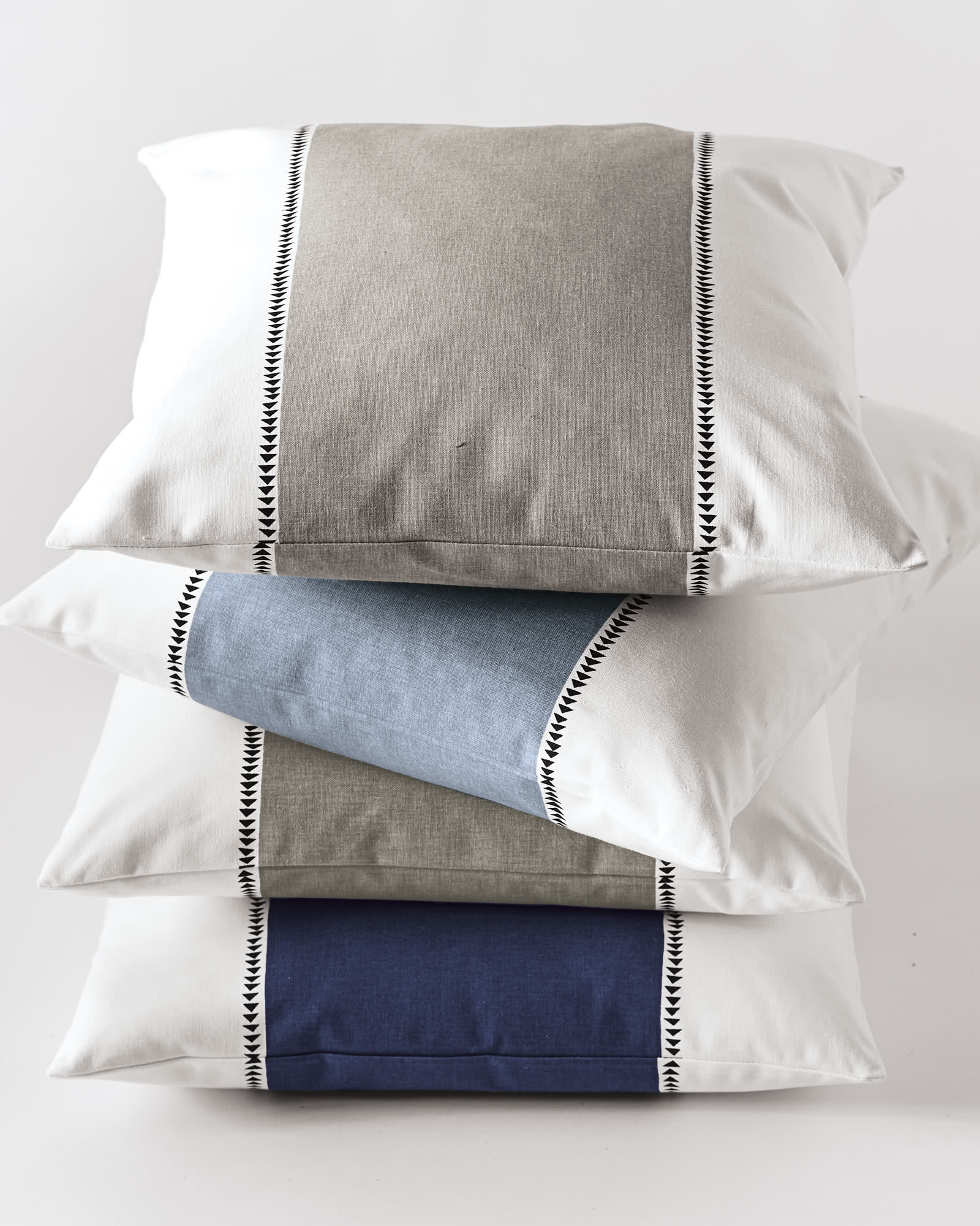 Racing Stripe Pillow Cover