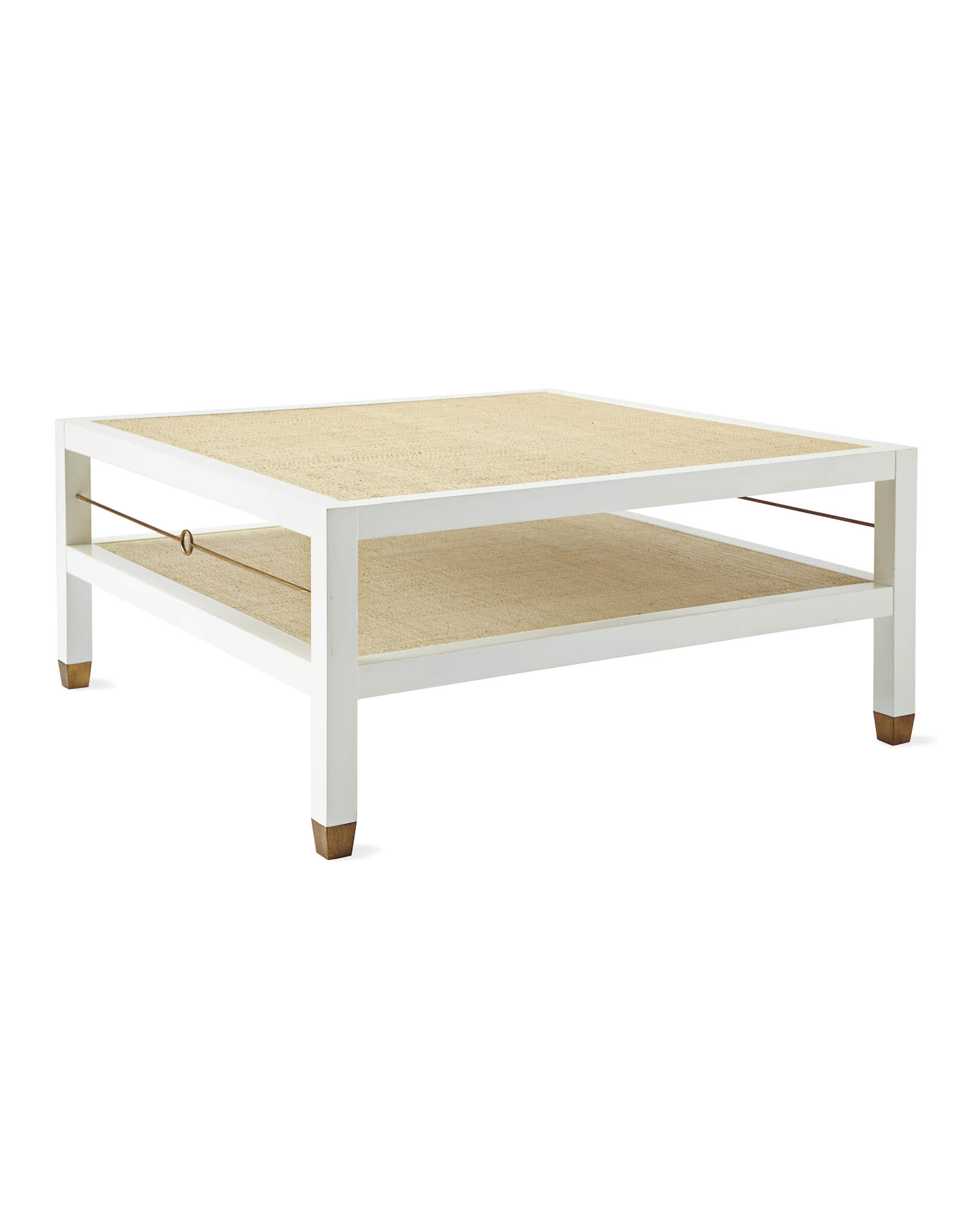 Cabot Square Coffee Table, White