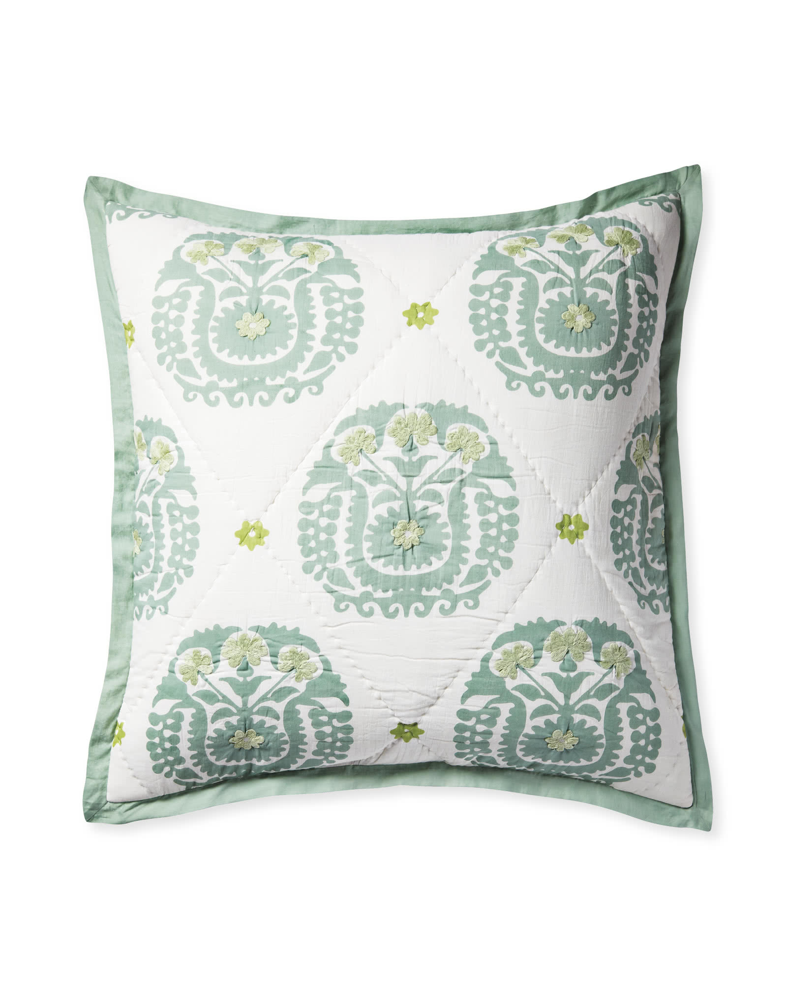 Suzani Quilted Shams