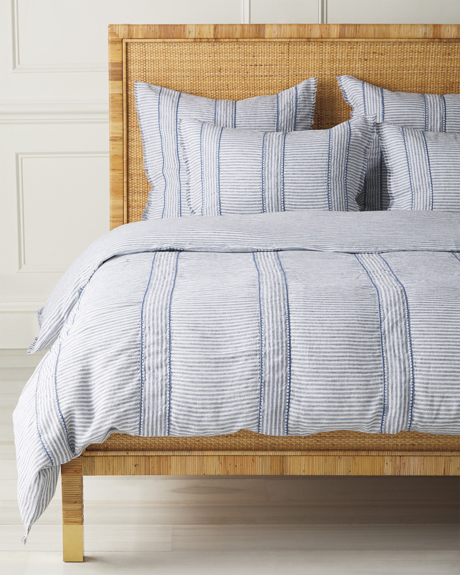 Stone Harbor Duvet Cover, Navy