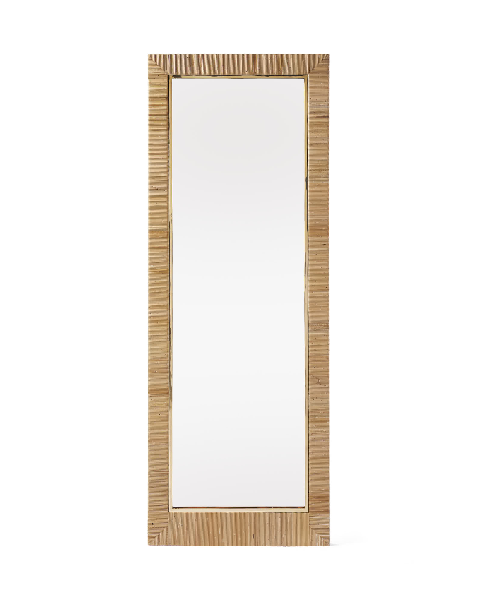 Balboa Floor Mirror, Natural
