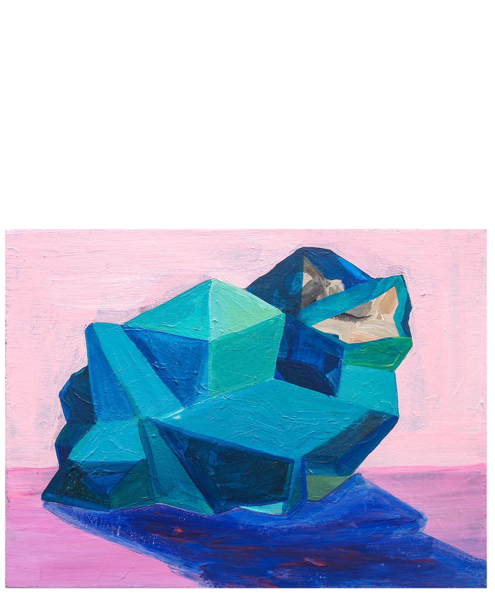 """""""Pink and Turquoise Quartz""""  by Claire Elliott,"""