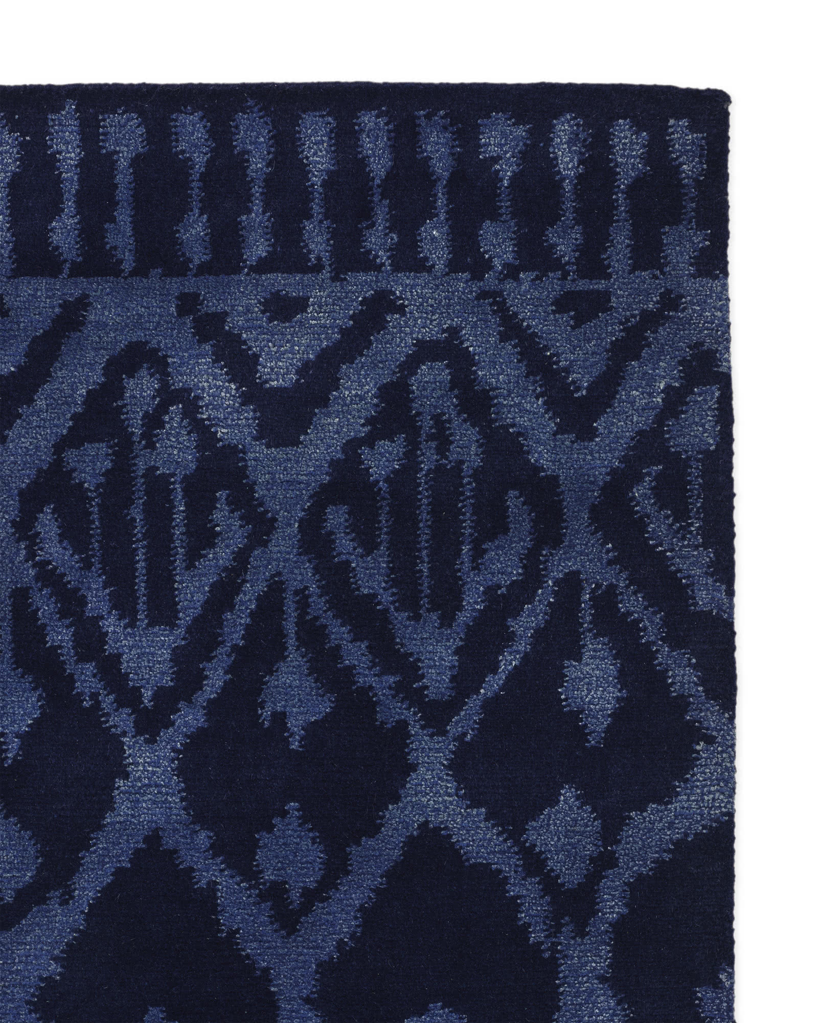 Milan Hand Knotted Rug Swatch Serena