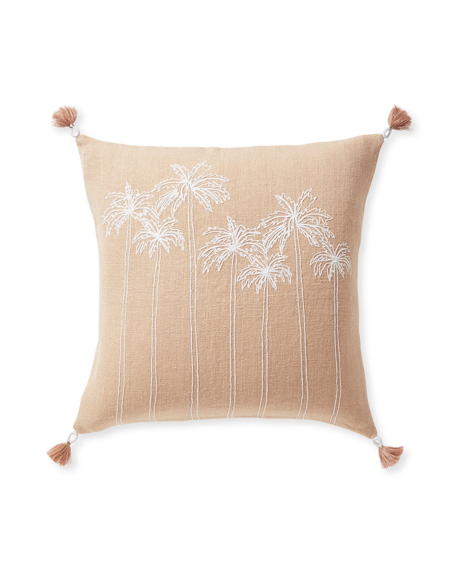 Seabreeze Pillow Cover, Wild Rose