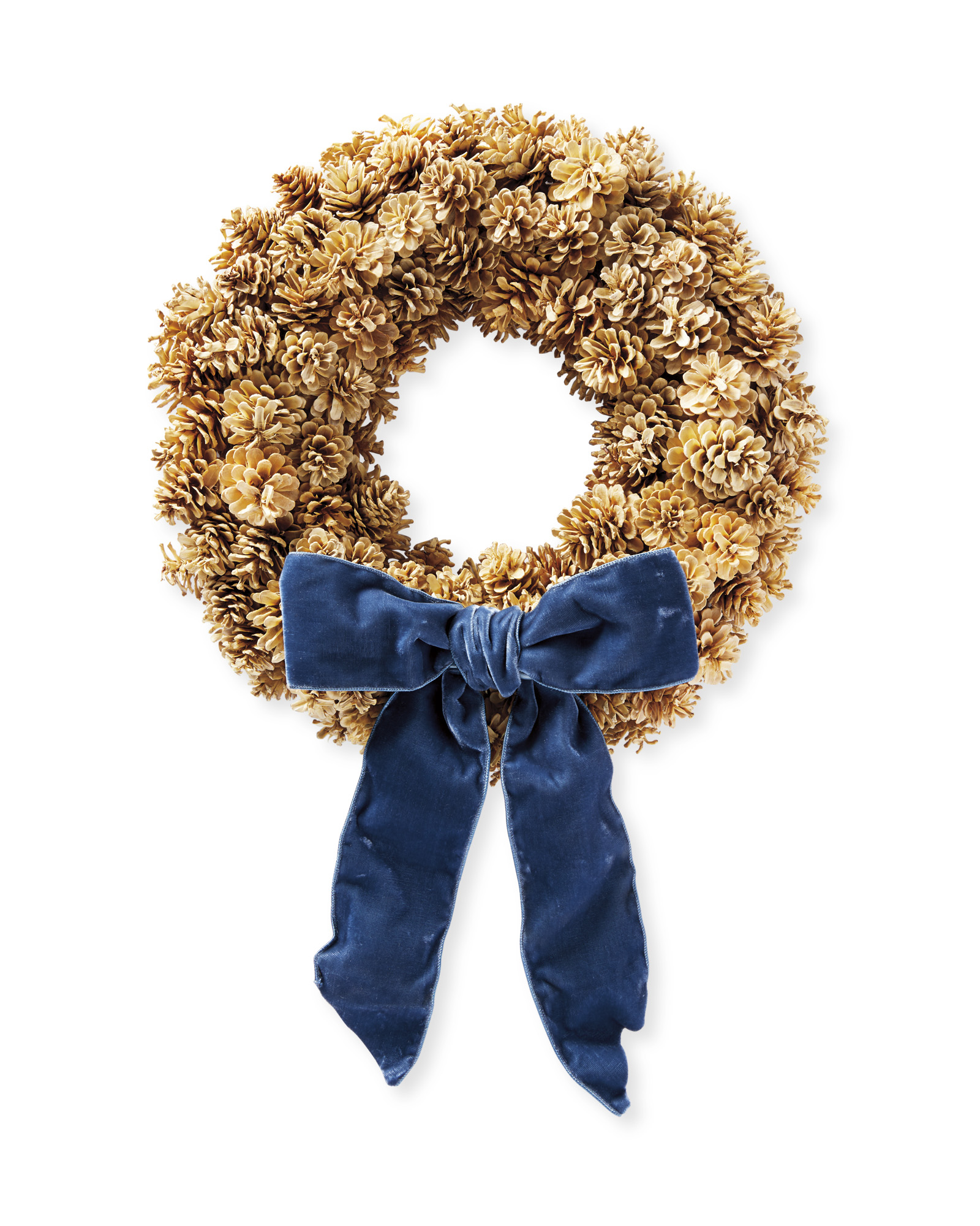 Pinecone Wreath,