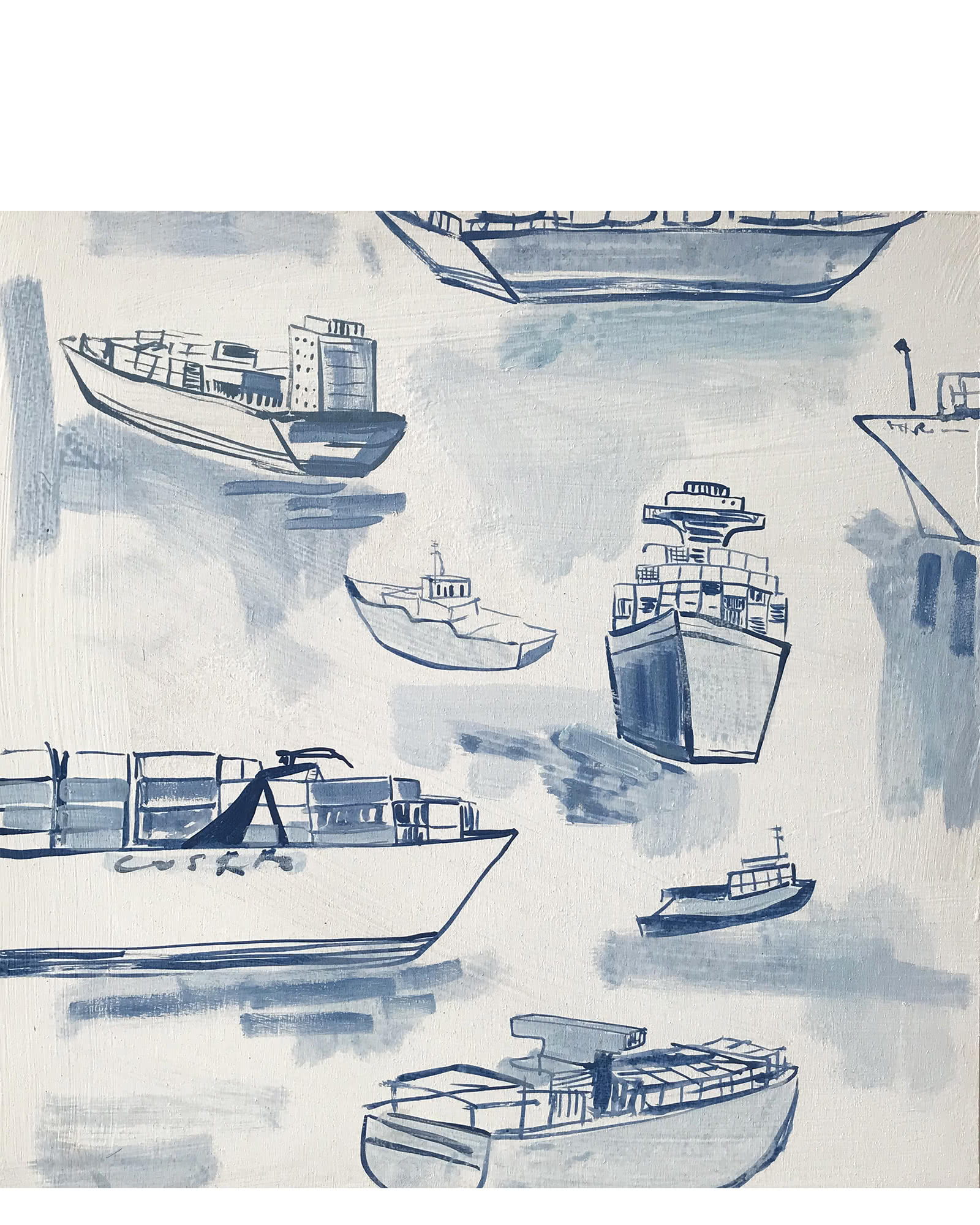 """Marine Traffic VI"" by Blakely Little,"