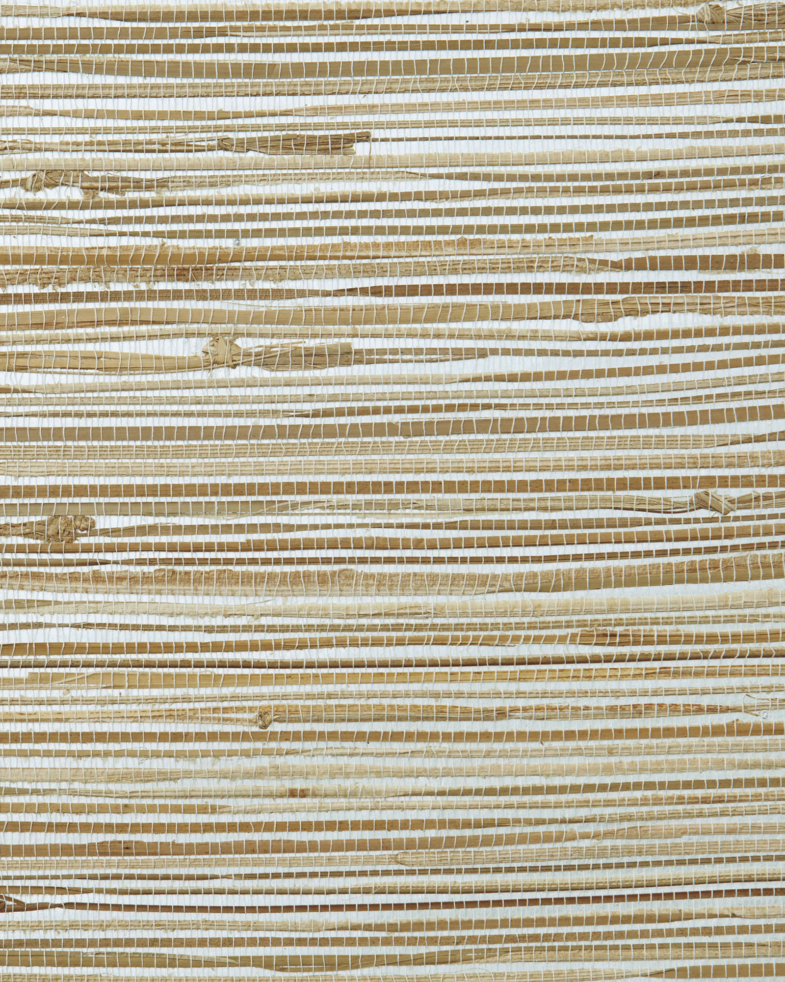 Grasscloth Wallcovering Swatch, Metallic Natural