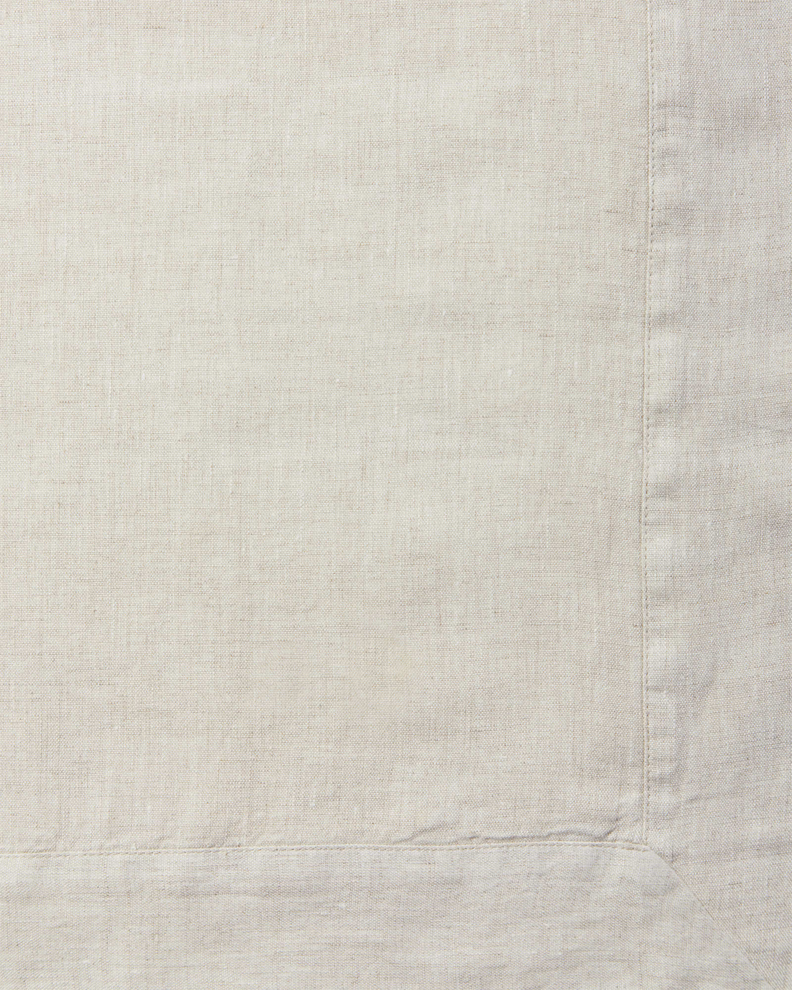 Cavallo Linen Bedding Swatch, Flax Chambray