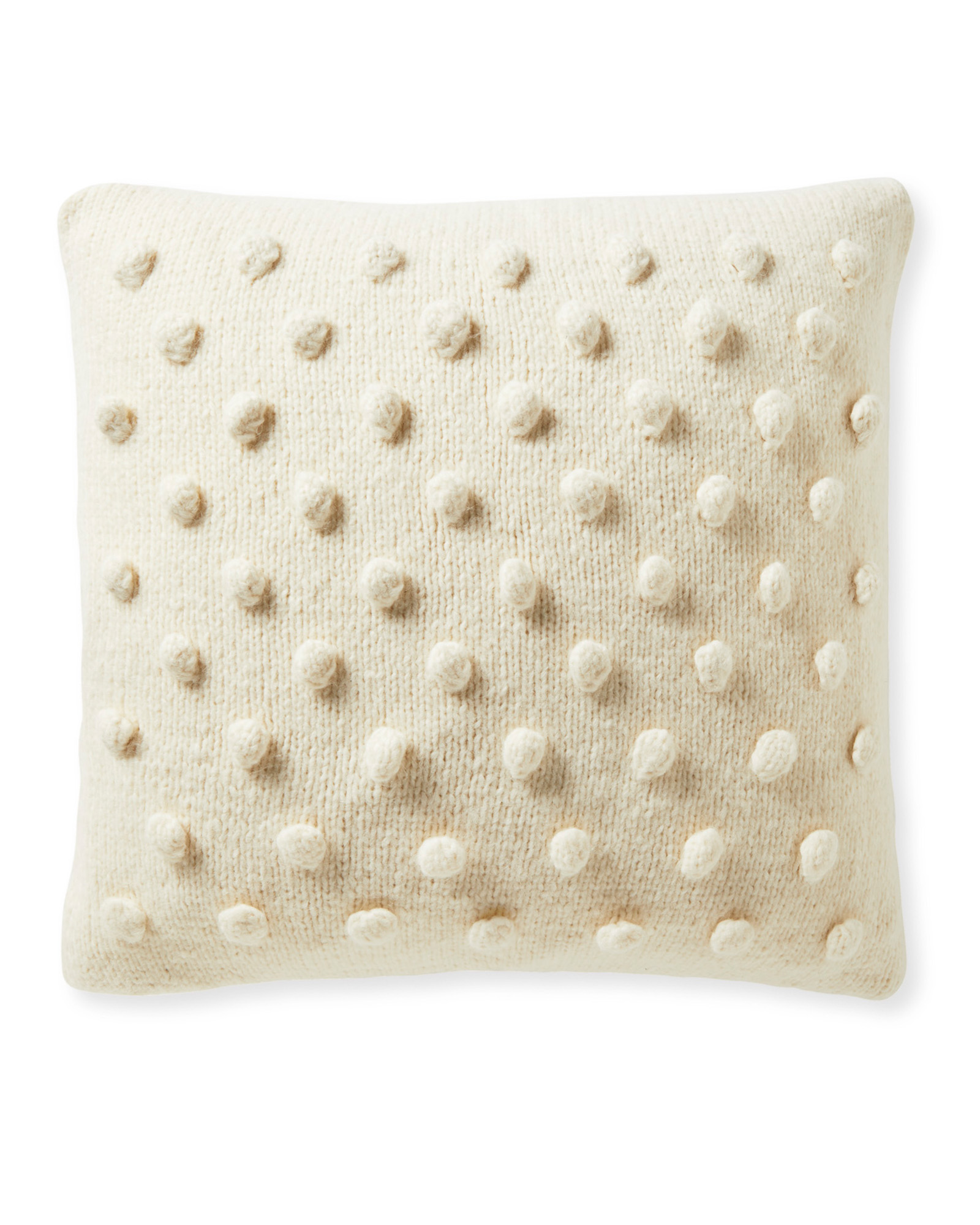 Auckland Pillow Cover, Ivory