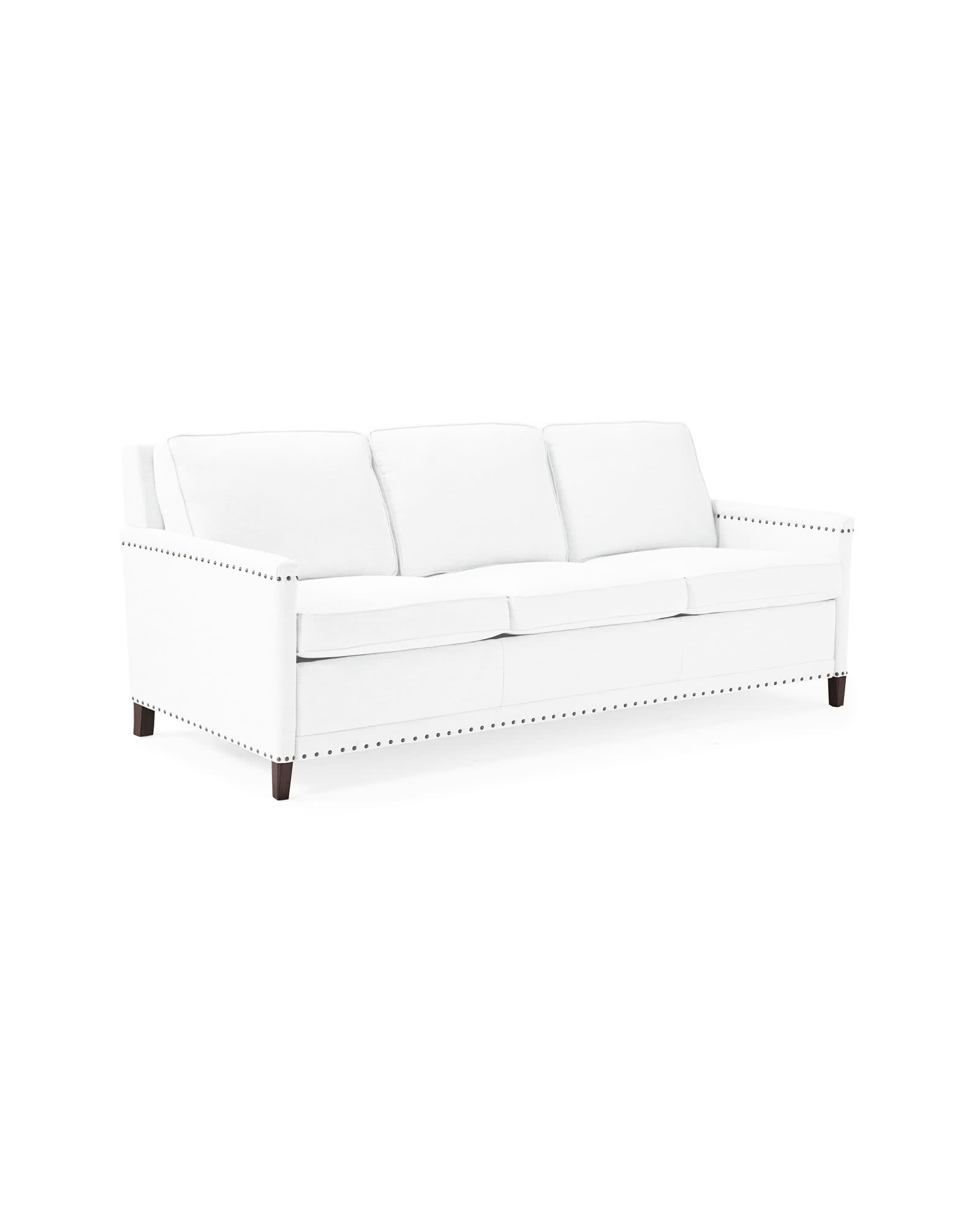 Spruce Street 3-Seat Sleeper with Nailheads,