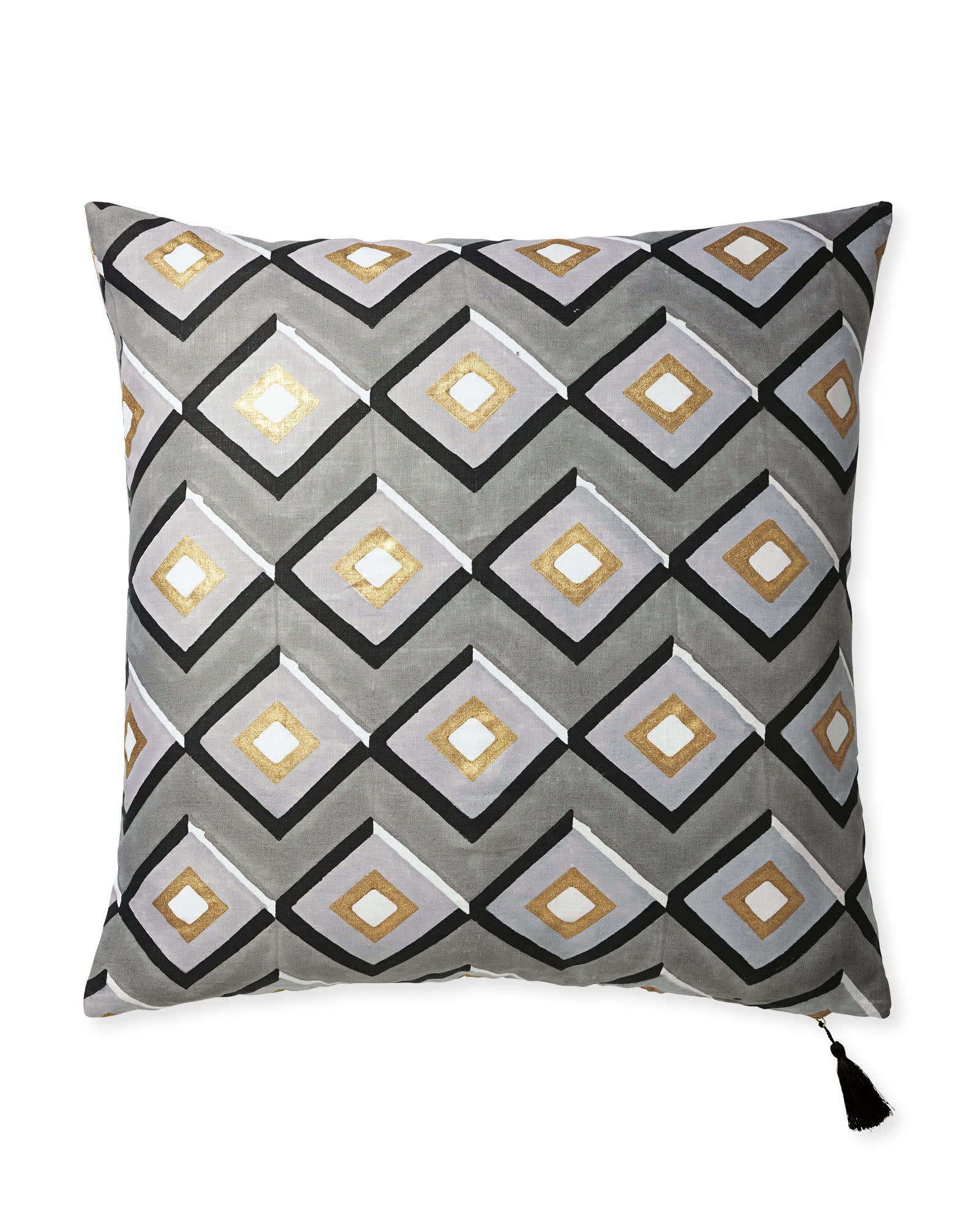 Monterey Block Print Pillow Cover