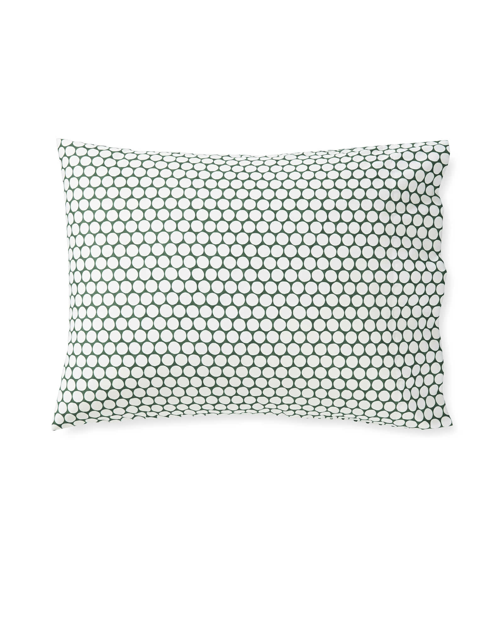 Color Dot Pillowcases (Extra Set of 2) - Palm Green,