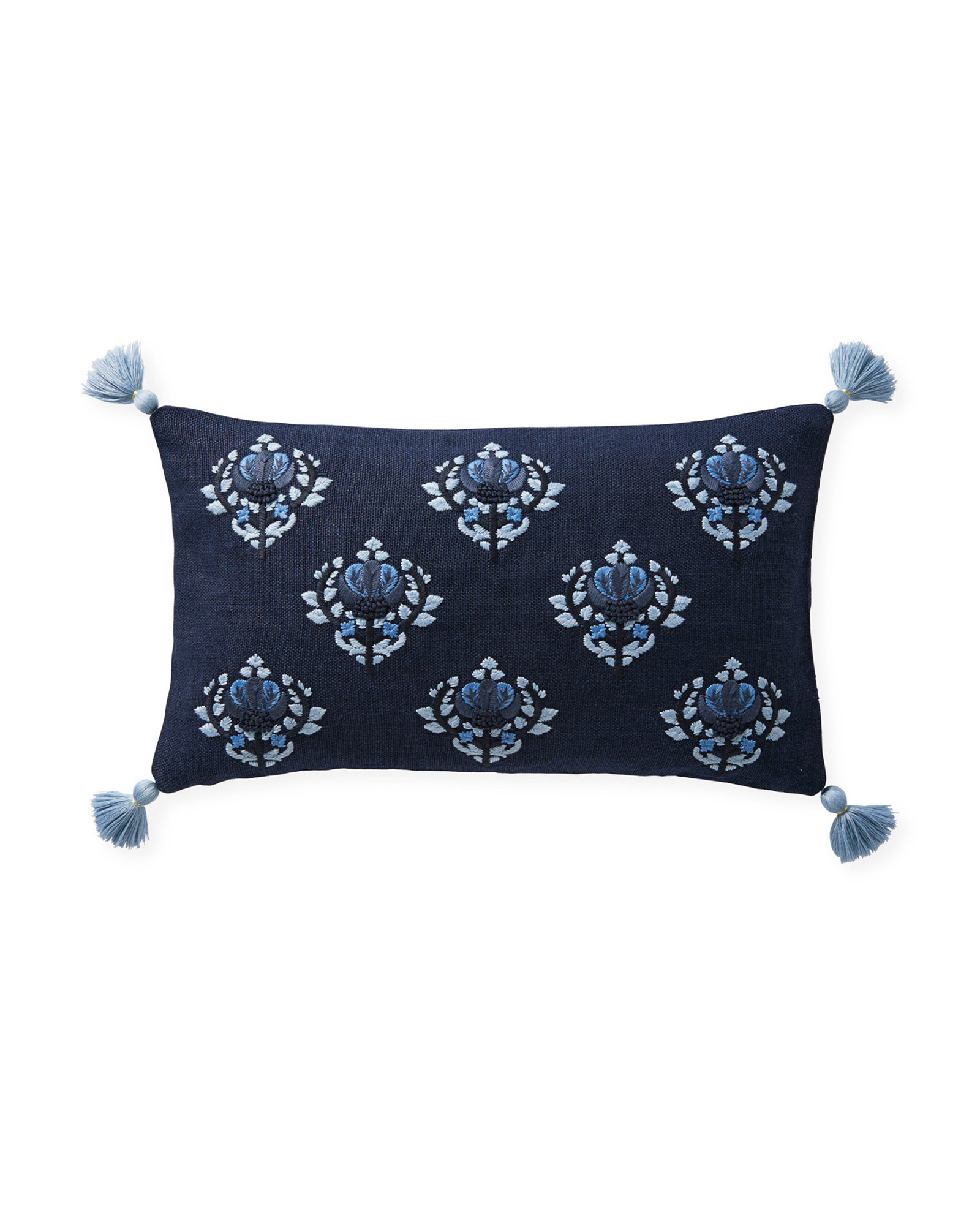 Kemp Pillow Cover, Navy
