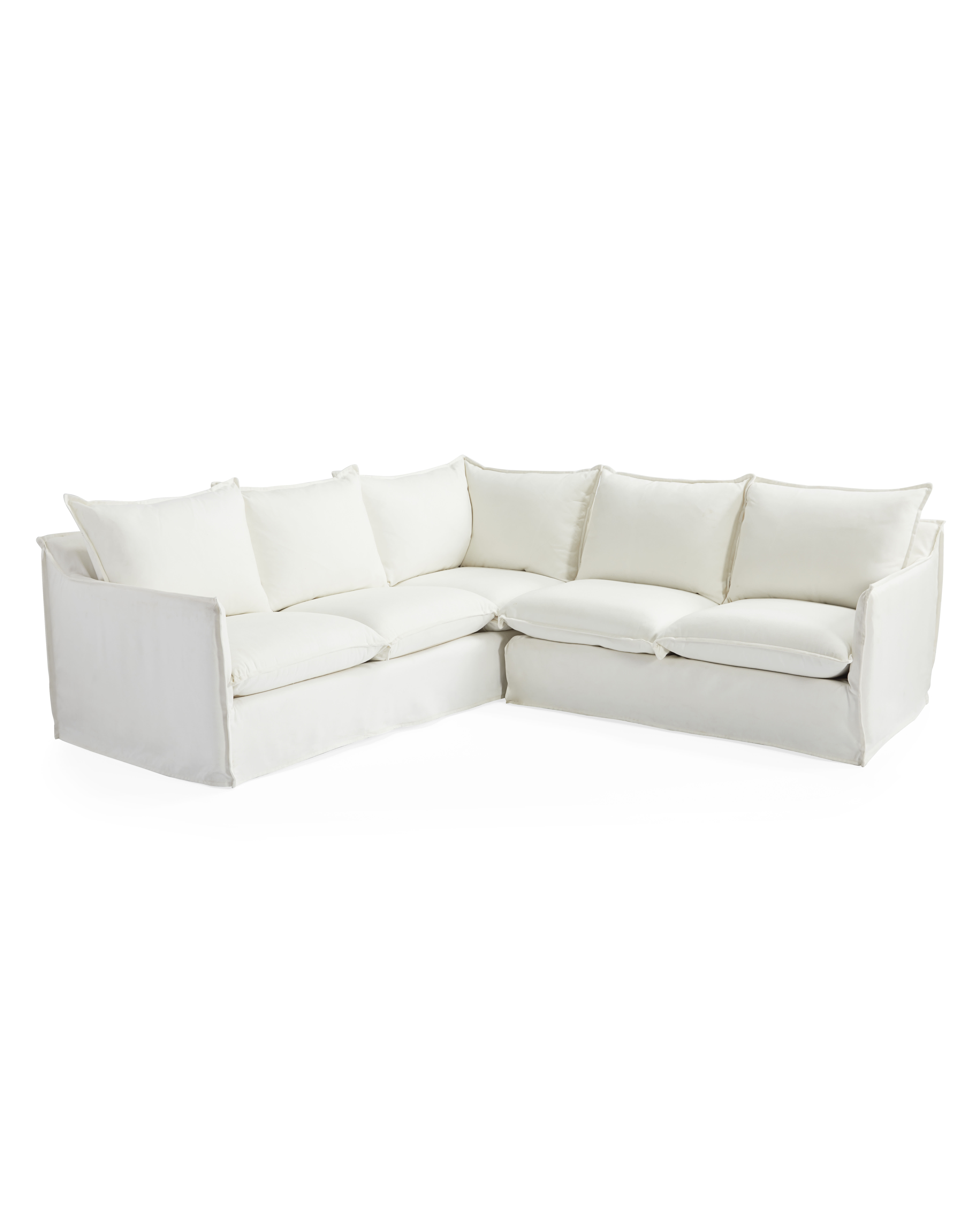 Sundial Outdoor Left-Facing Sectional,