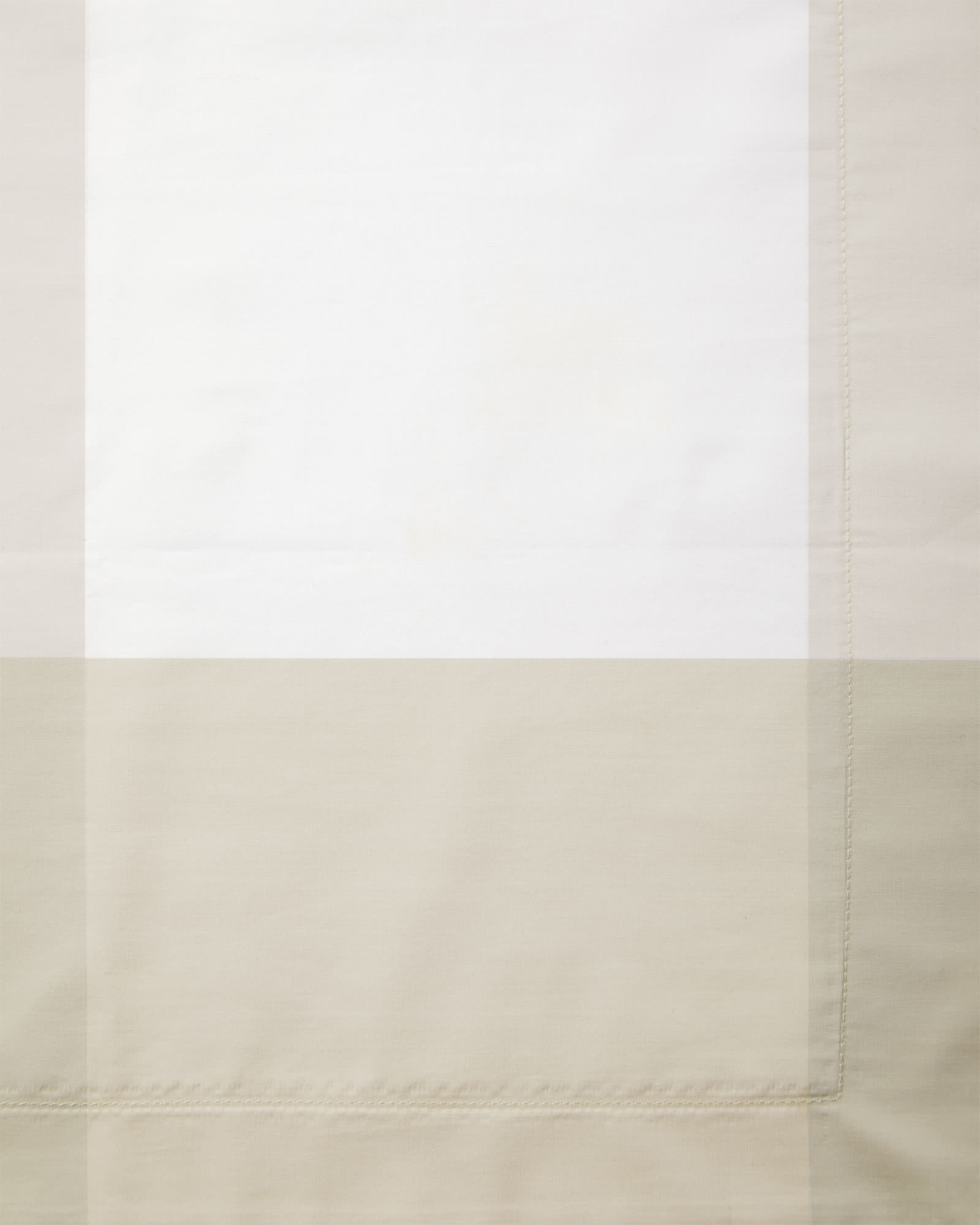 Oversized Gingham Bedding Swatch, Sand