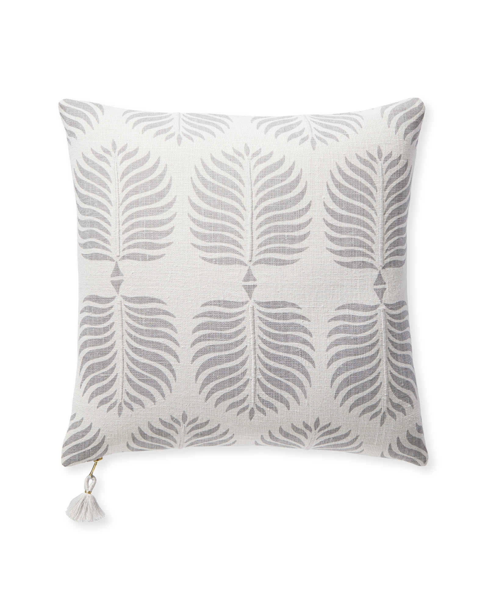 Granada Pillow Cover, Fog