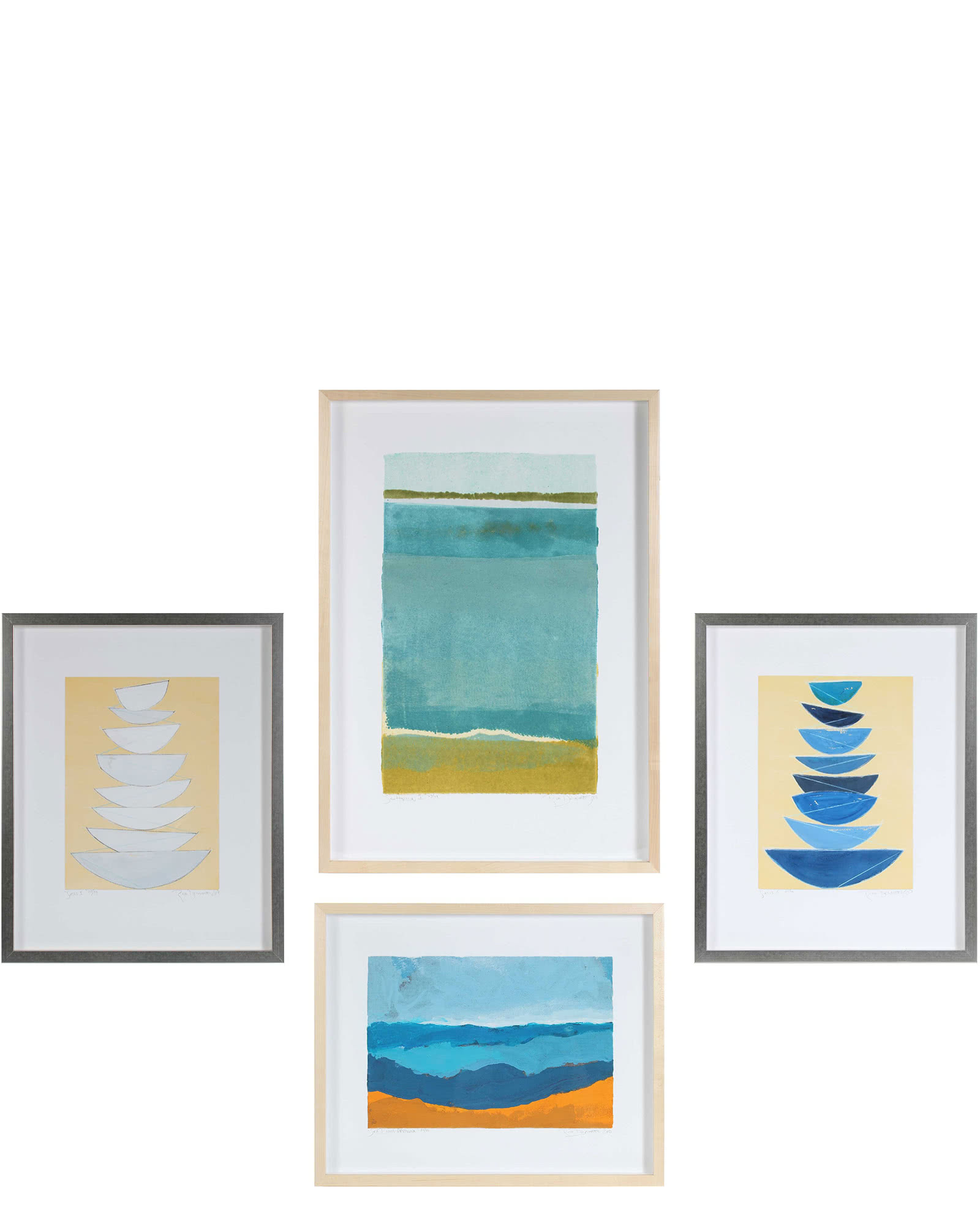"""Gallery Wall, Set of 4"" by Rob Delamater,"