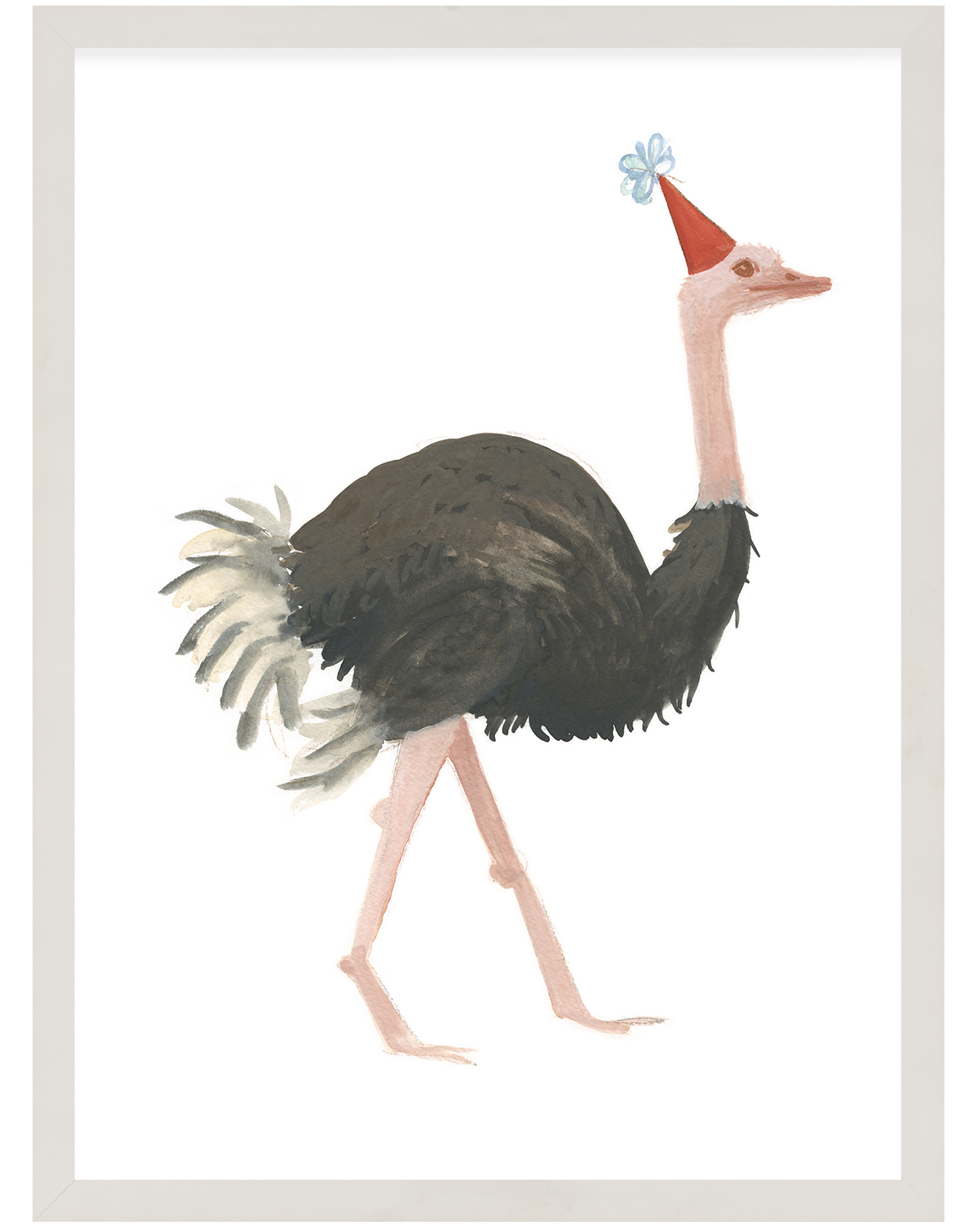"""Party Animals - Ostrich"" by Fours Are Yellow ,"