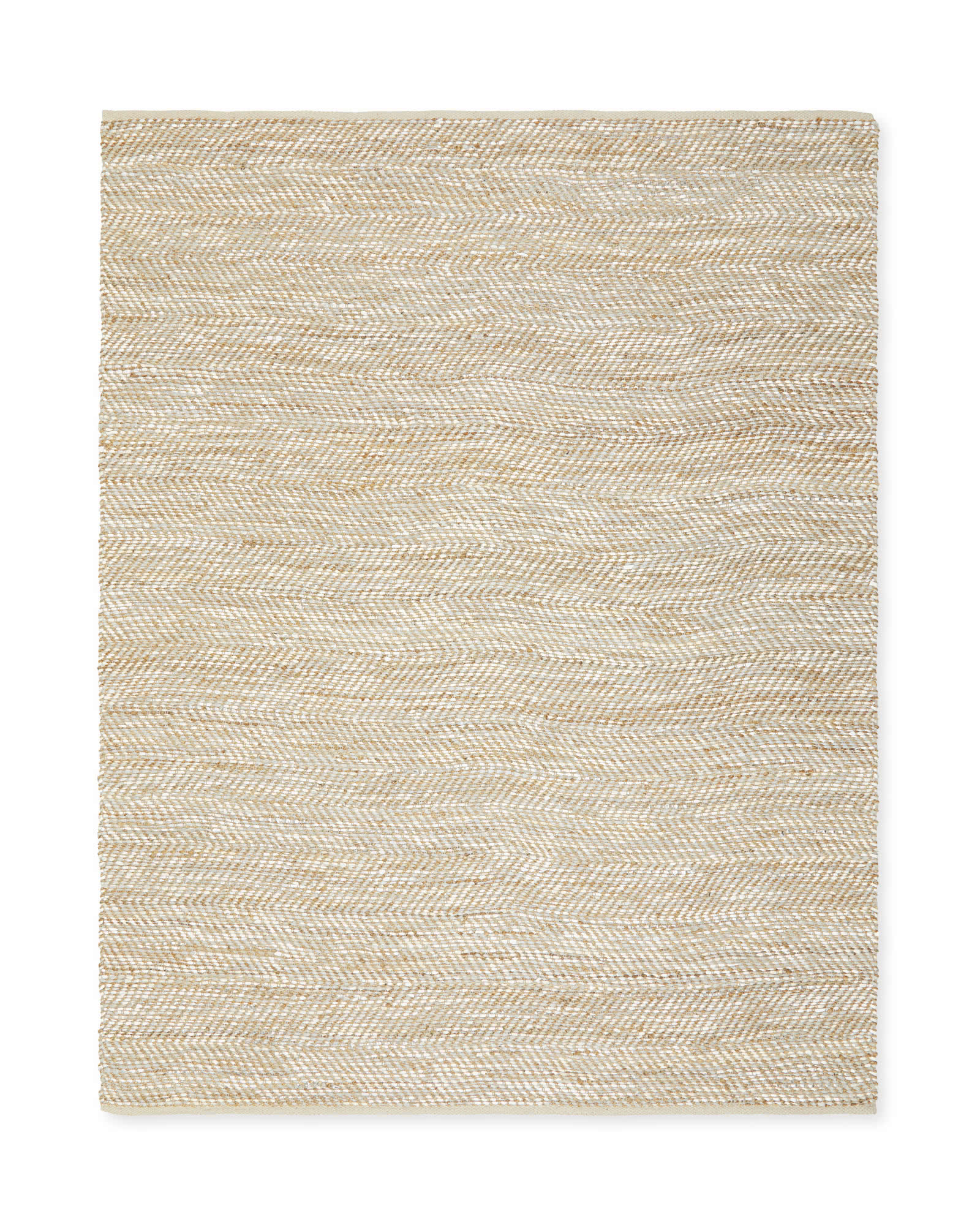 Metallic Suede & Hemp Rug,