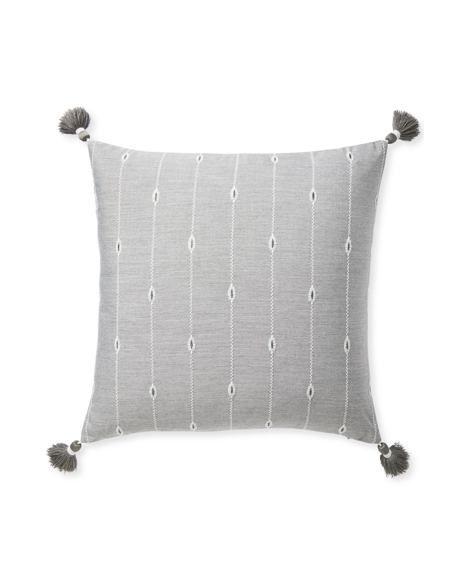 Rivoli Pillow Cover, Fog