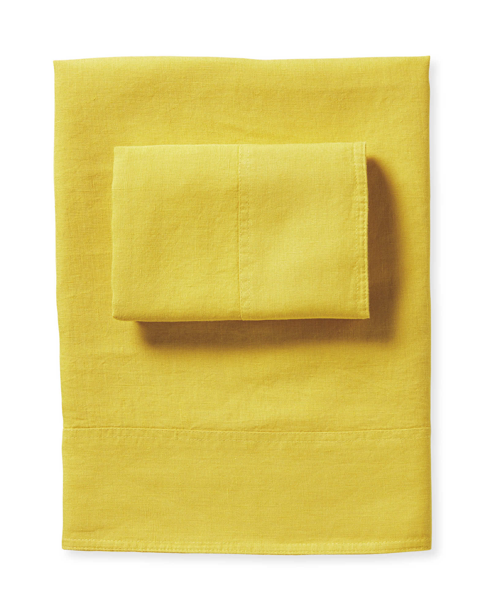 Positano Linen Sheet Set, Yarrow