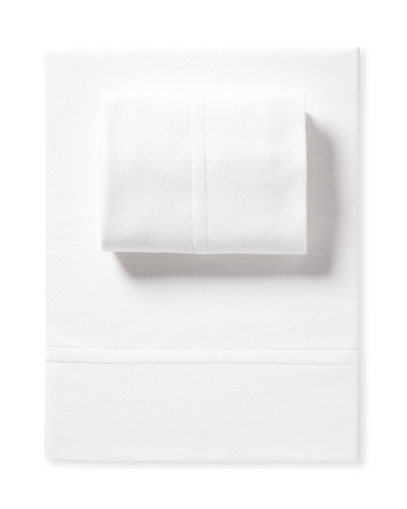 Alpine Flannel Sheet Set, White