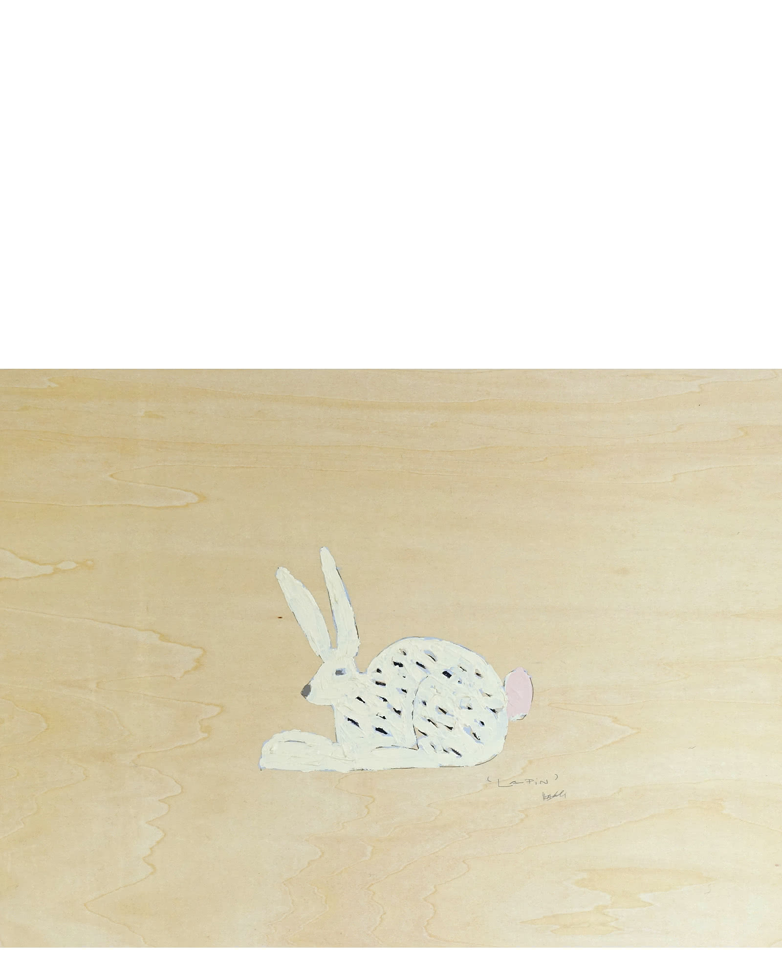 """Lapin' Dottie Rabbit"" by Holly Addi,"